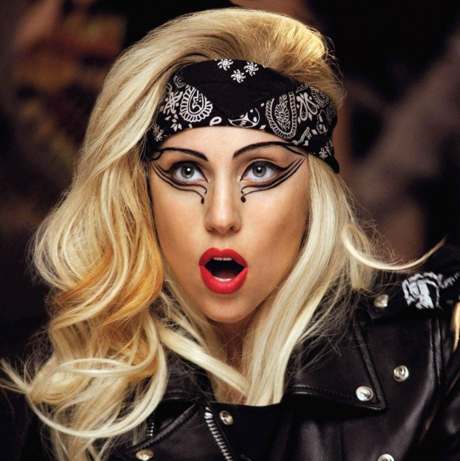Lady Gaga Rocker Makeup