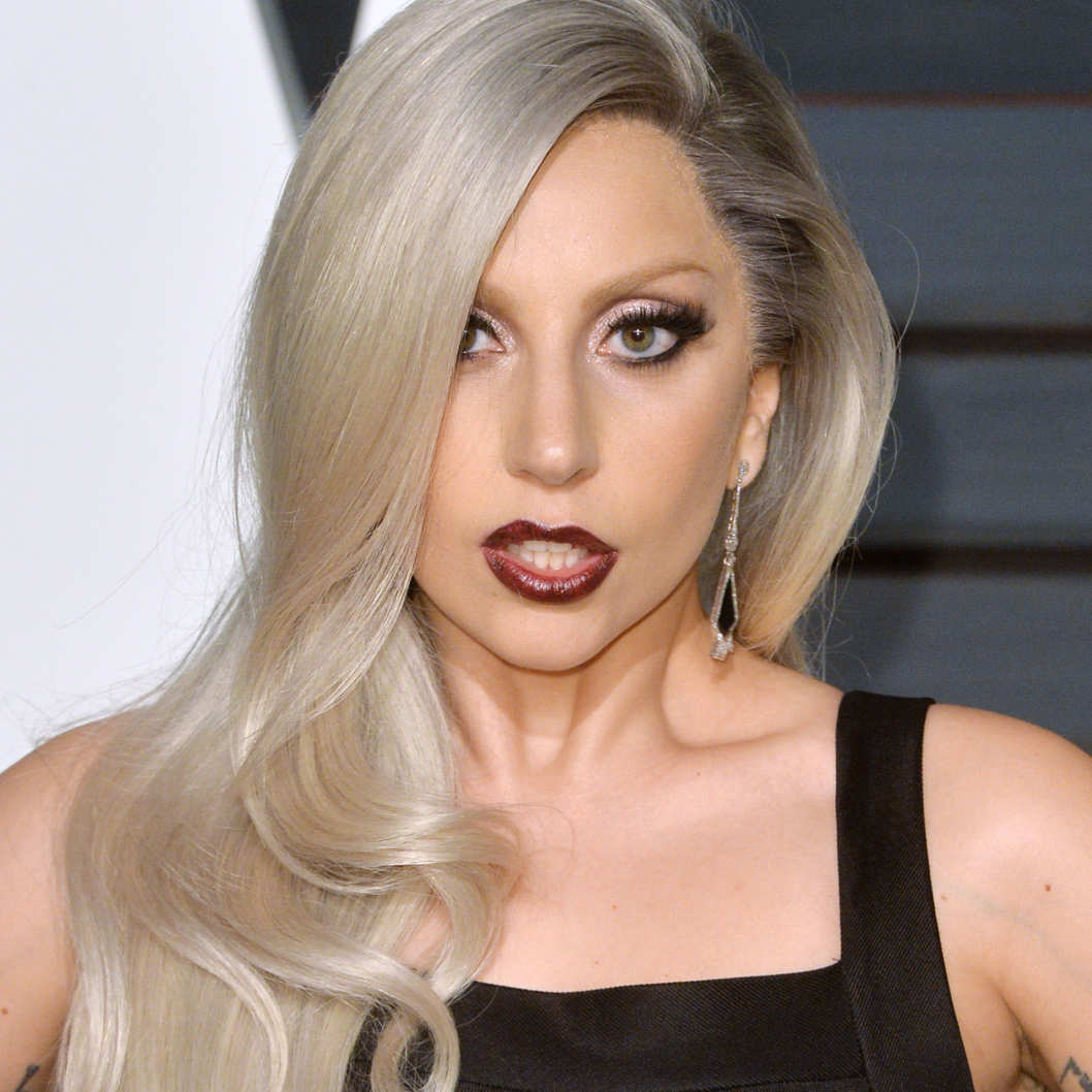 Lady Gaga Grey Hair