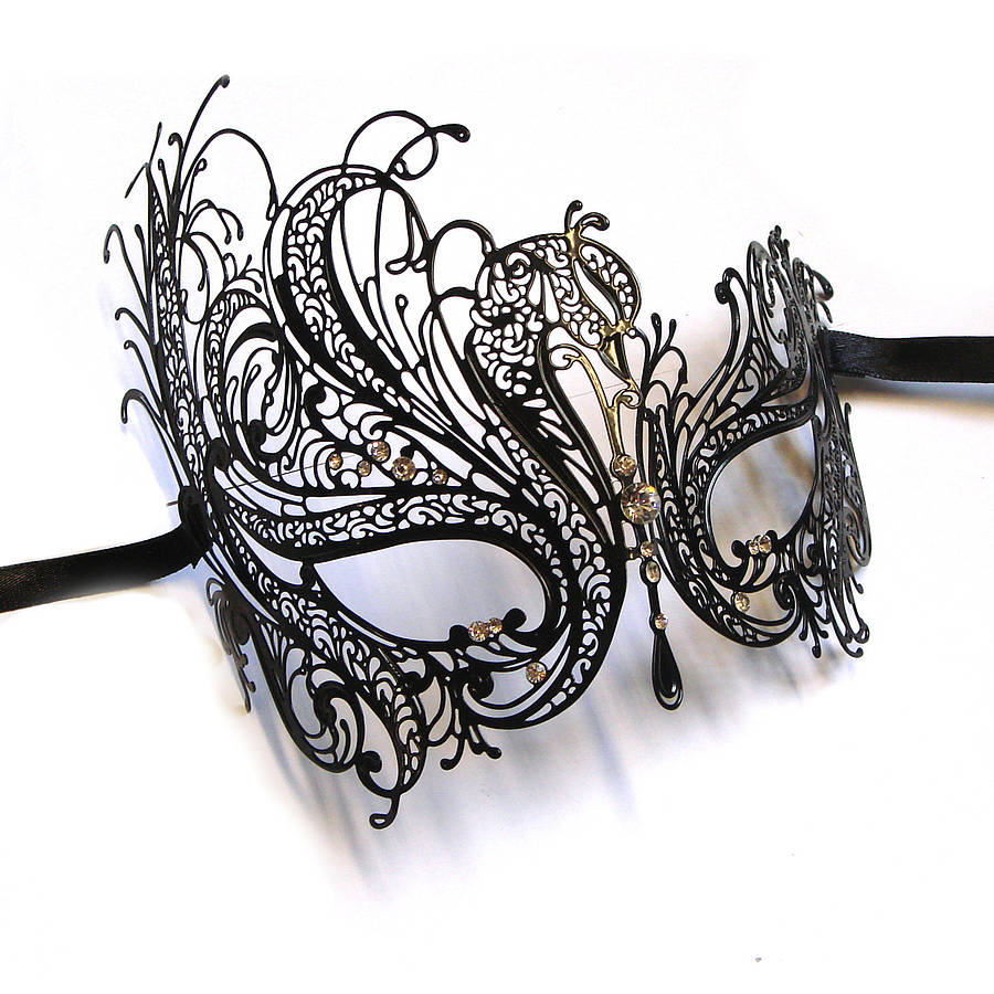 Tiny Ornamental Masquerade Mask 923.79 Kb