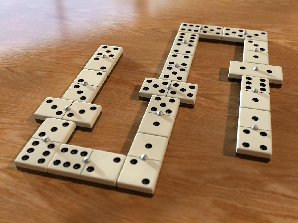 Dominoes Game on a Table #4244958, 1024x768 | All For Desktop
