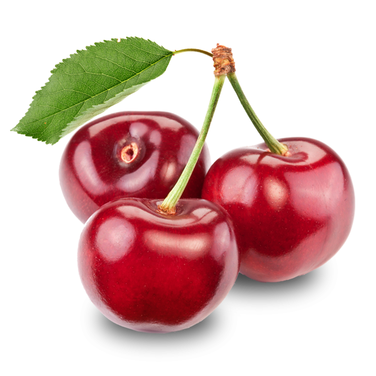 Shiny Red Fresh Cherry Trio 456.28 Kb