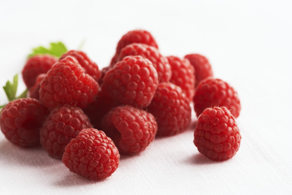 Red Raspberries Fruits