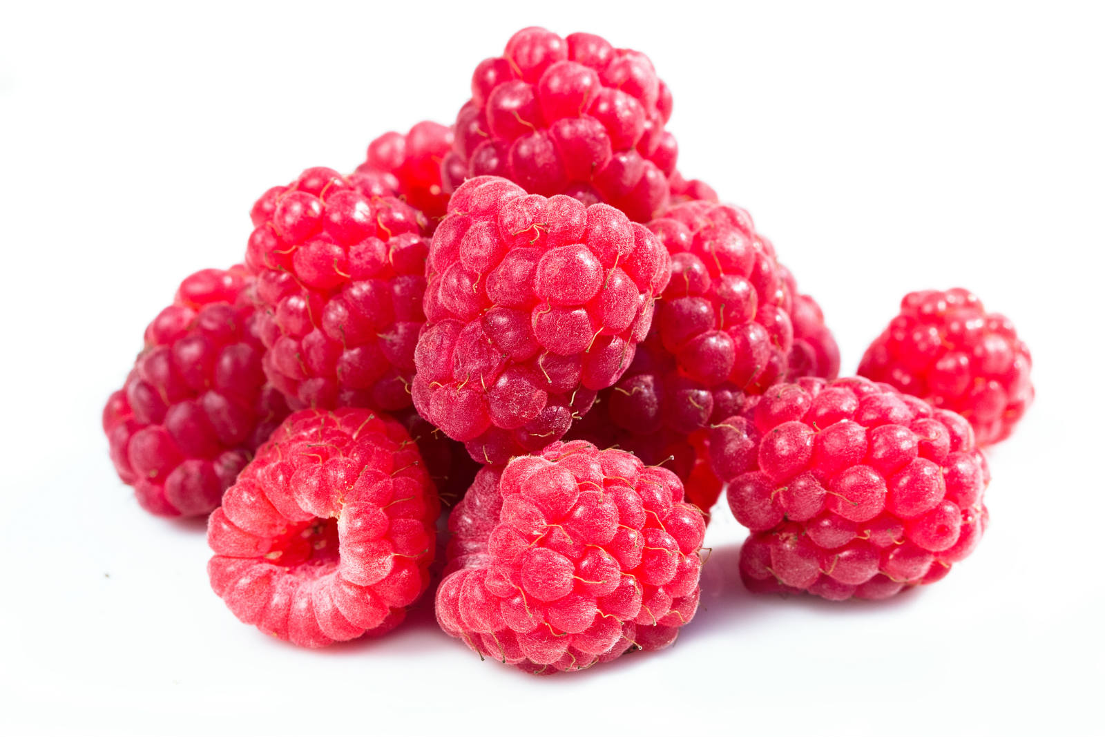 Sweet Raspberries in a Pile 3017.41 Kb