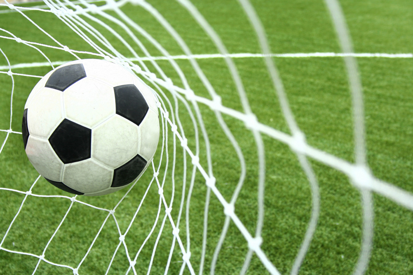 Football Goal in the Net