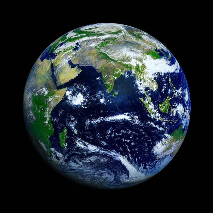 Earth from Space, Indian Ocean 8823.66 Kb