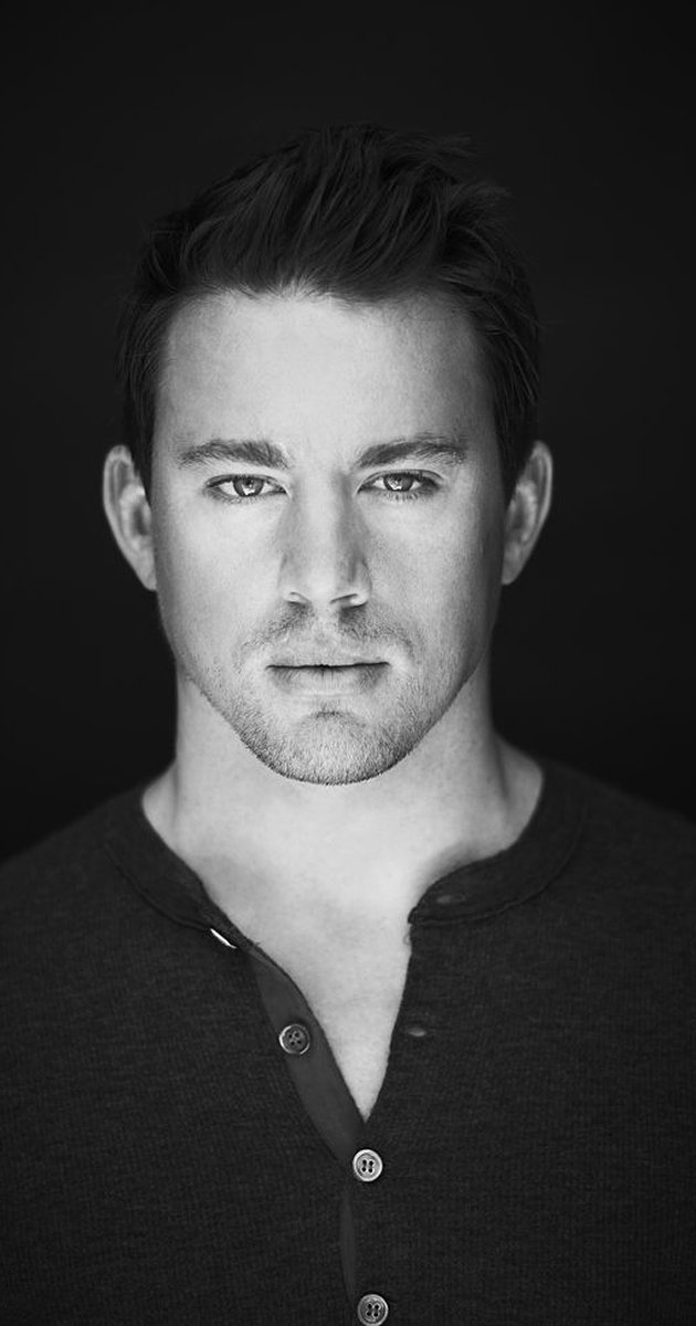 Channing Tatum Black and White Photoshoot