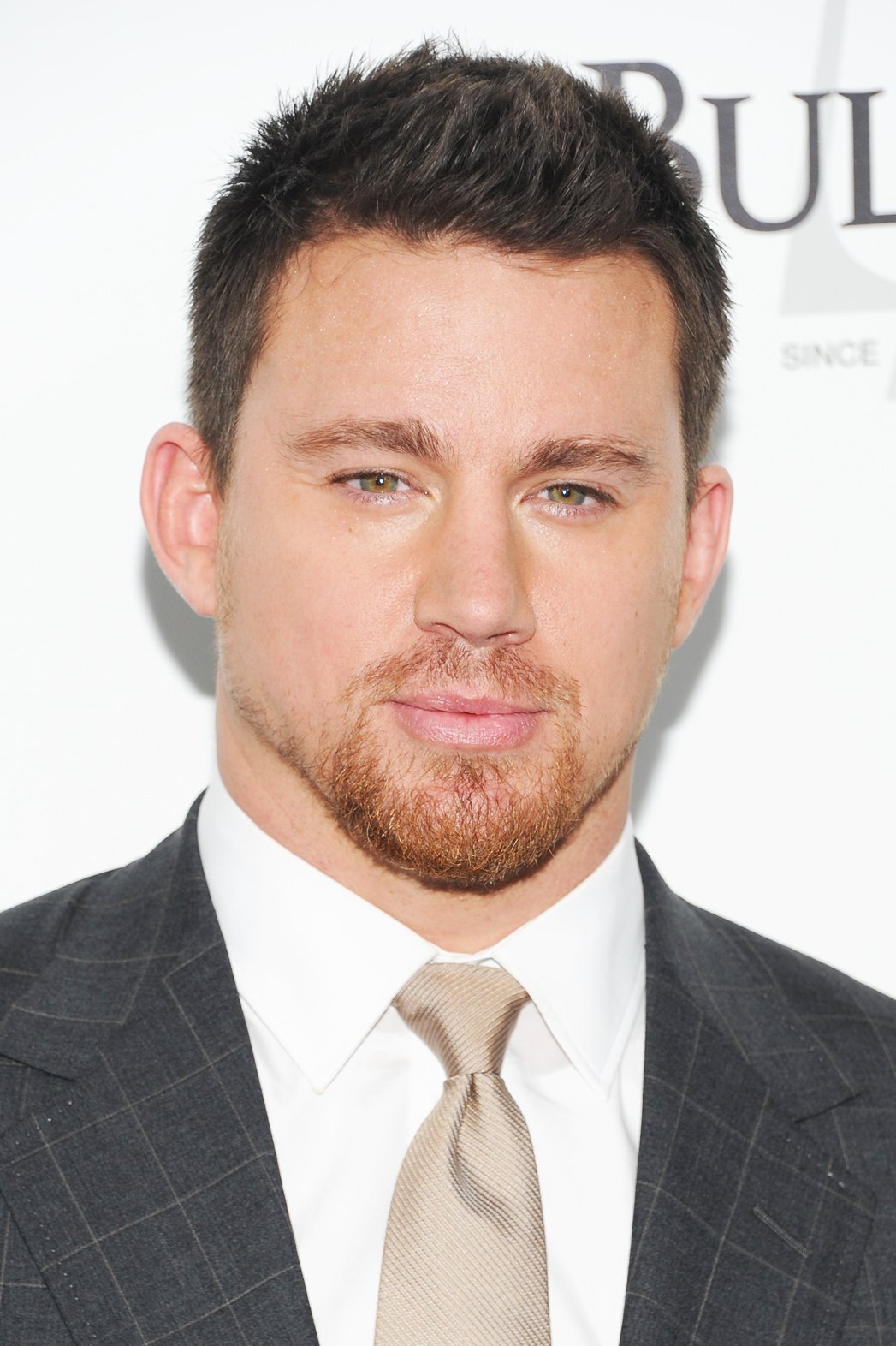 Channing Tatum with a Beard