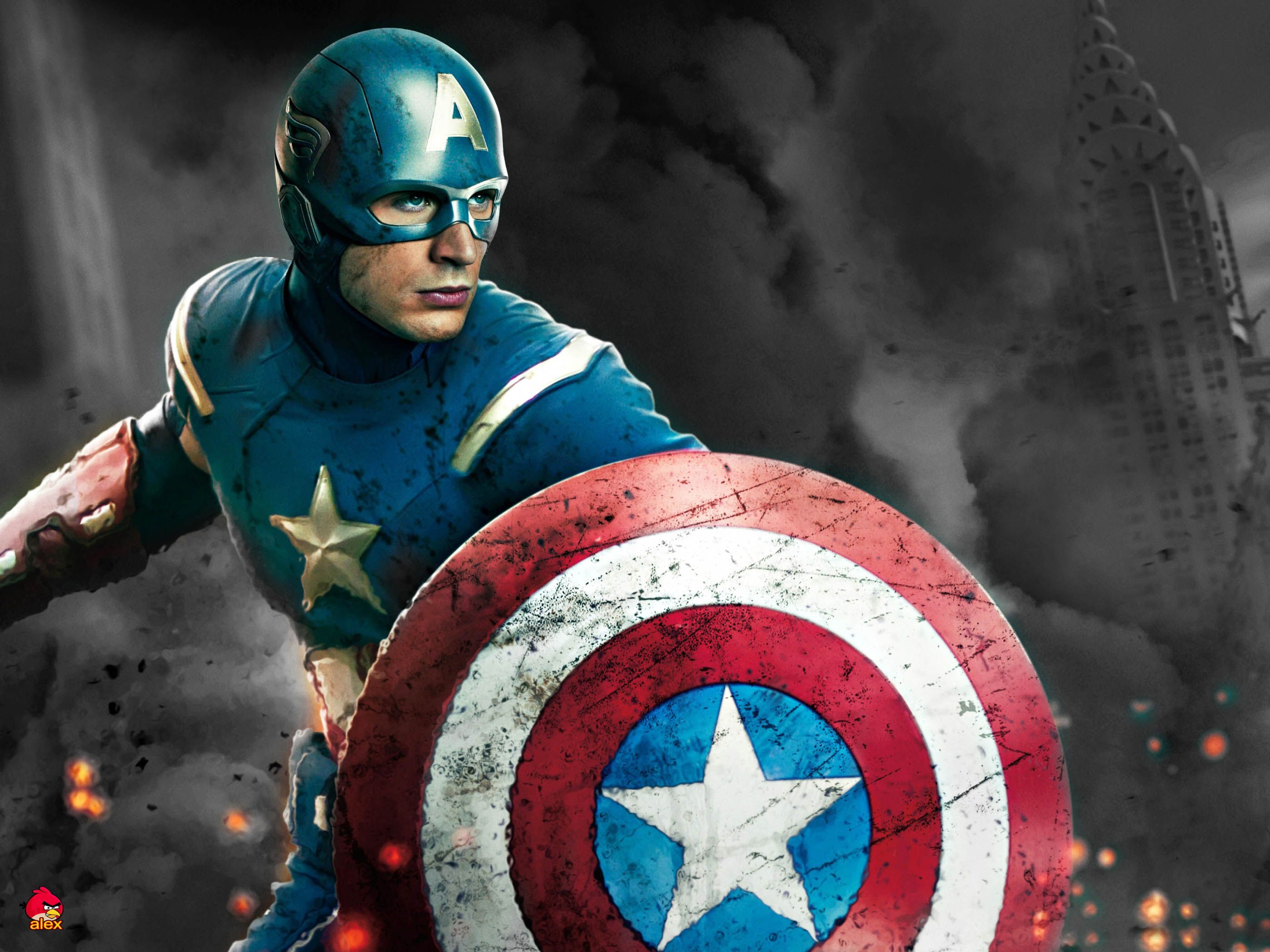 Captain America Movie Hero 320.29 Kb