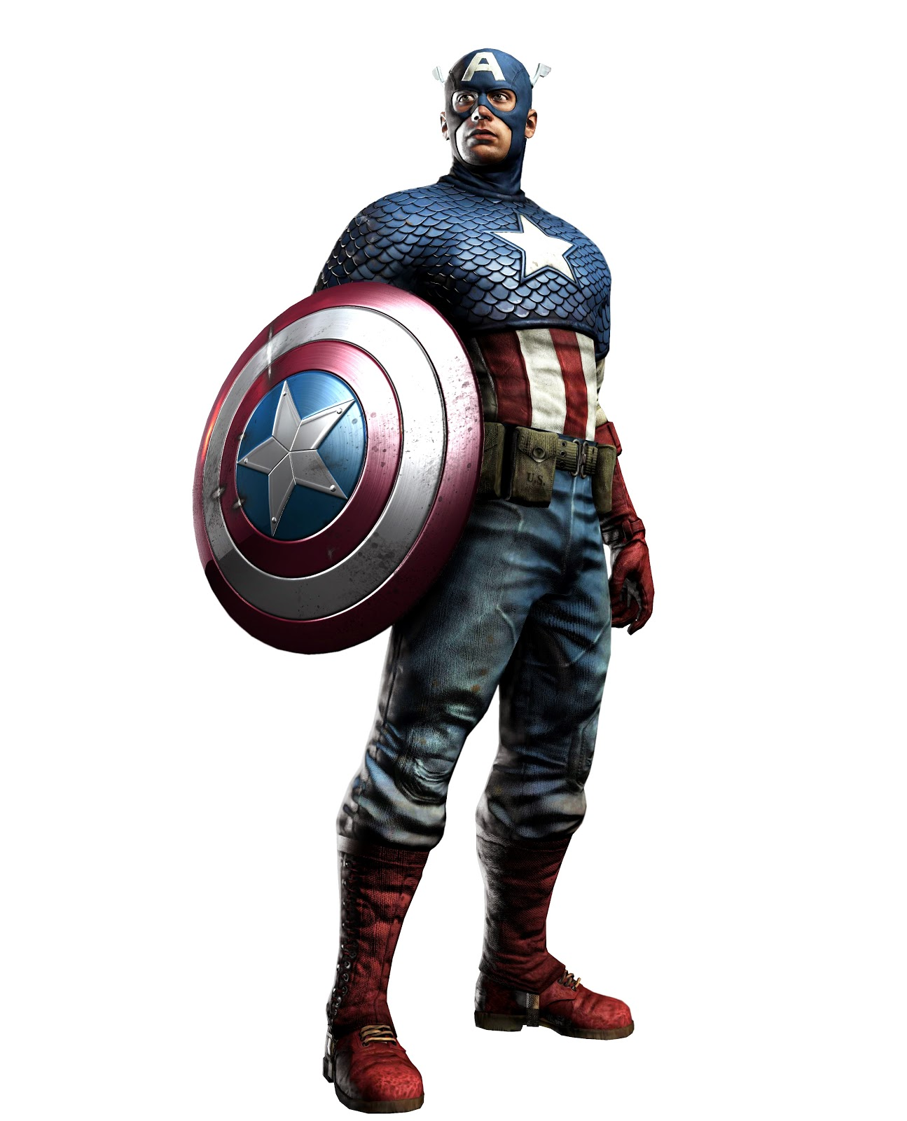 Captain America from American Comic Book 327.01 Kb