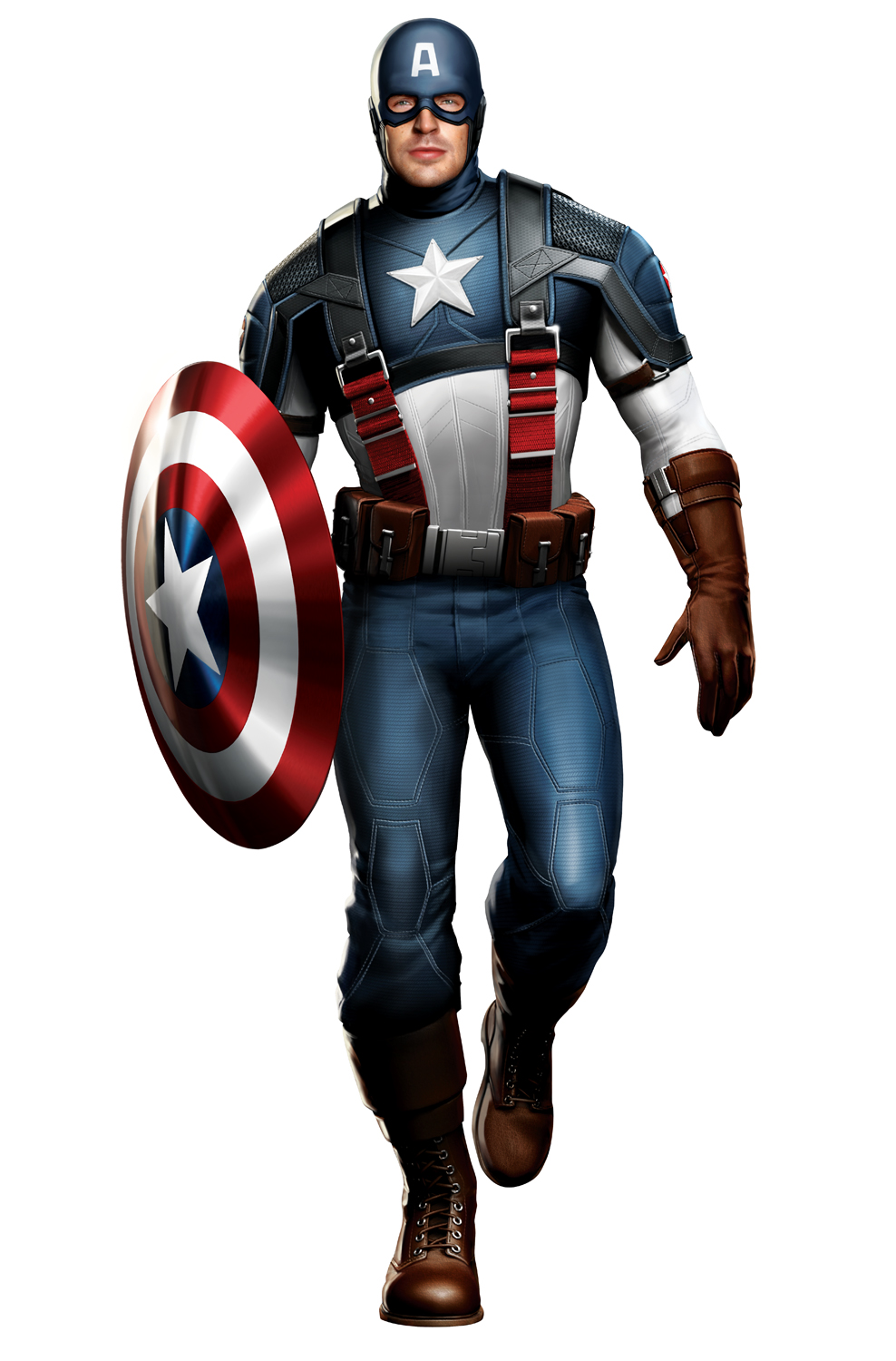 Captain America with Indestructible Shield