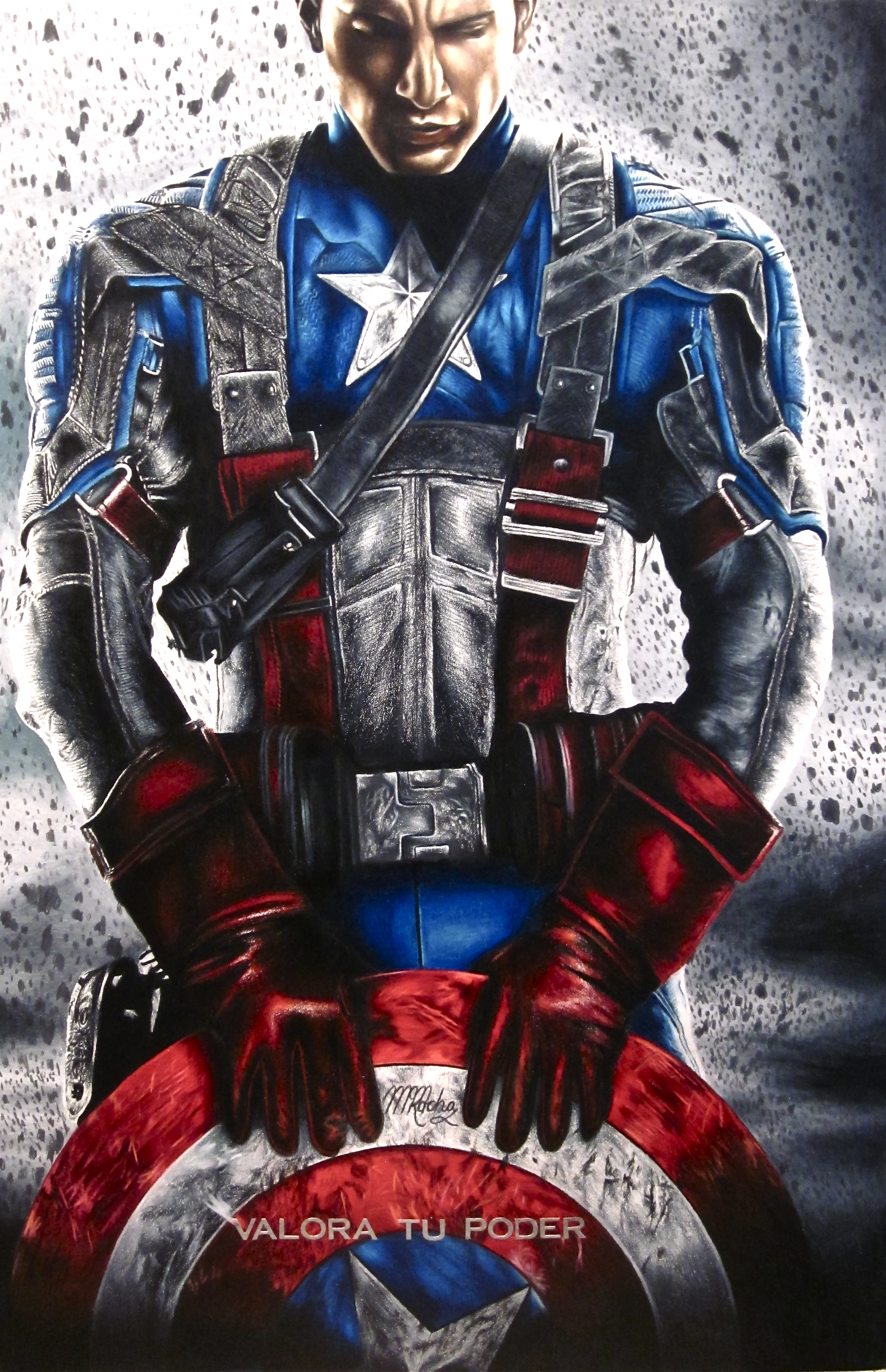 Captain America Poster 1074.31 Kb