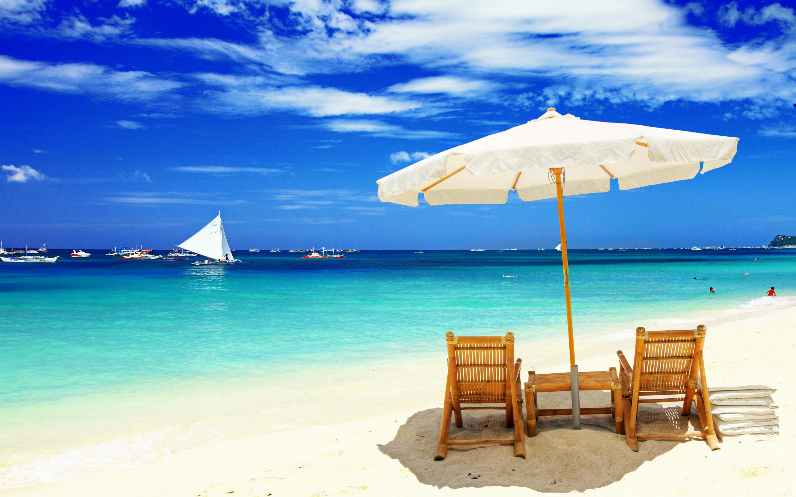 Beach Holiday in Tropical Country