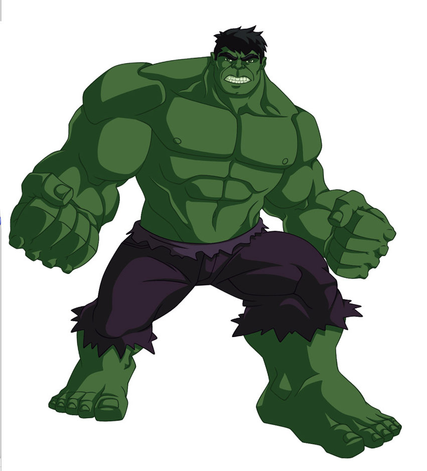 Hulk Cartoon Image 833.4 Kb