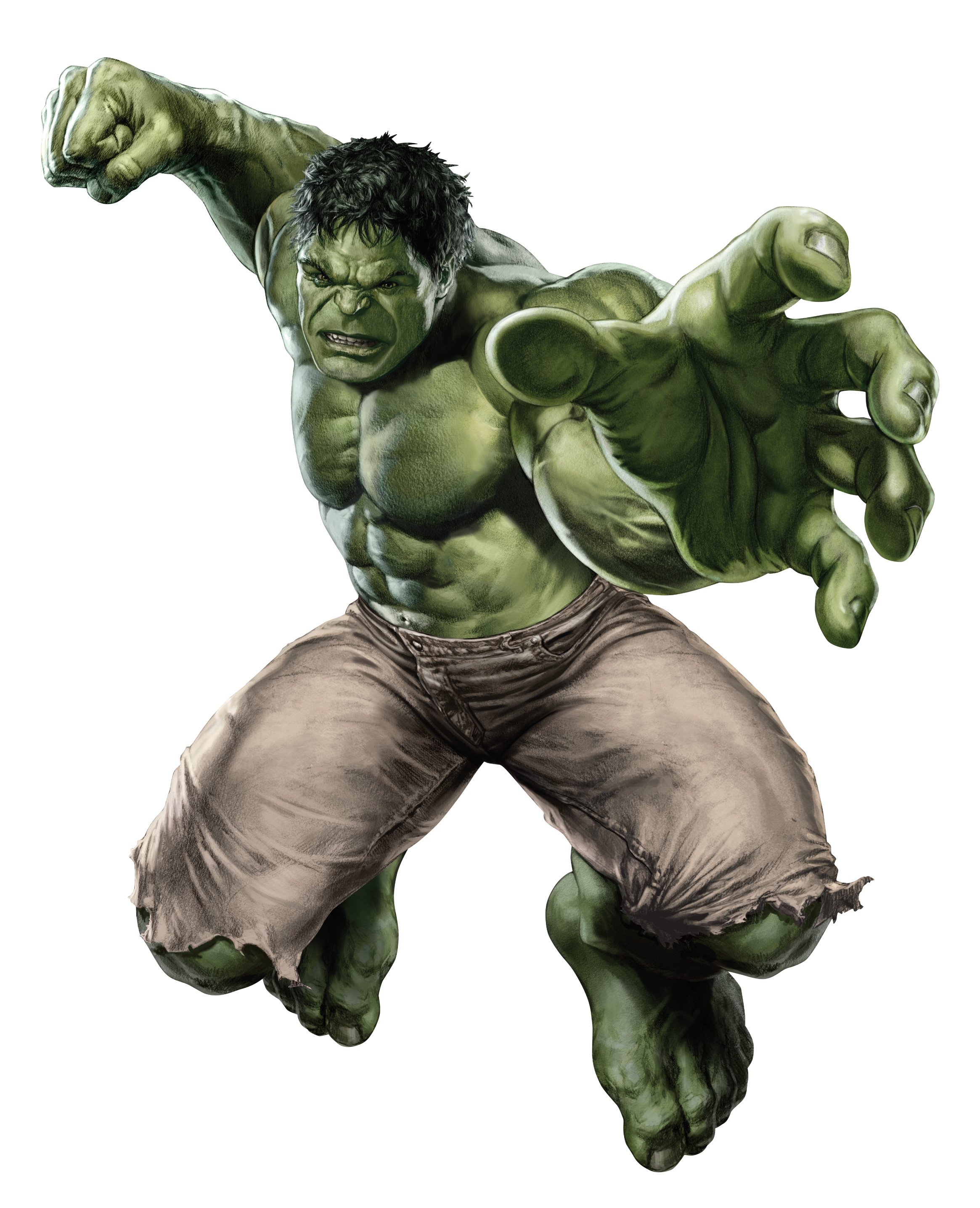 Powerful Hulk Wallpaper 833.4 Kb