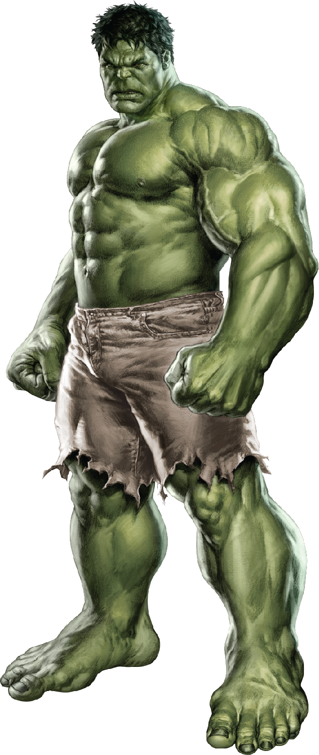 Image of Hulk from Movie 833.4 Kb