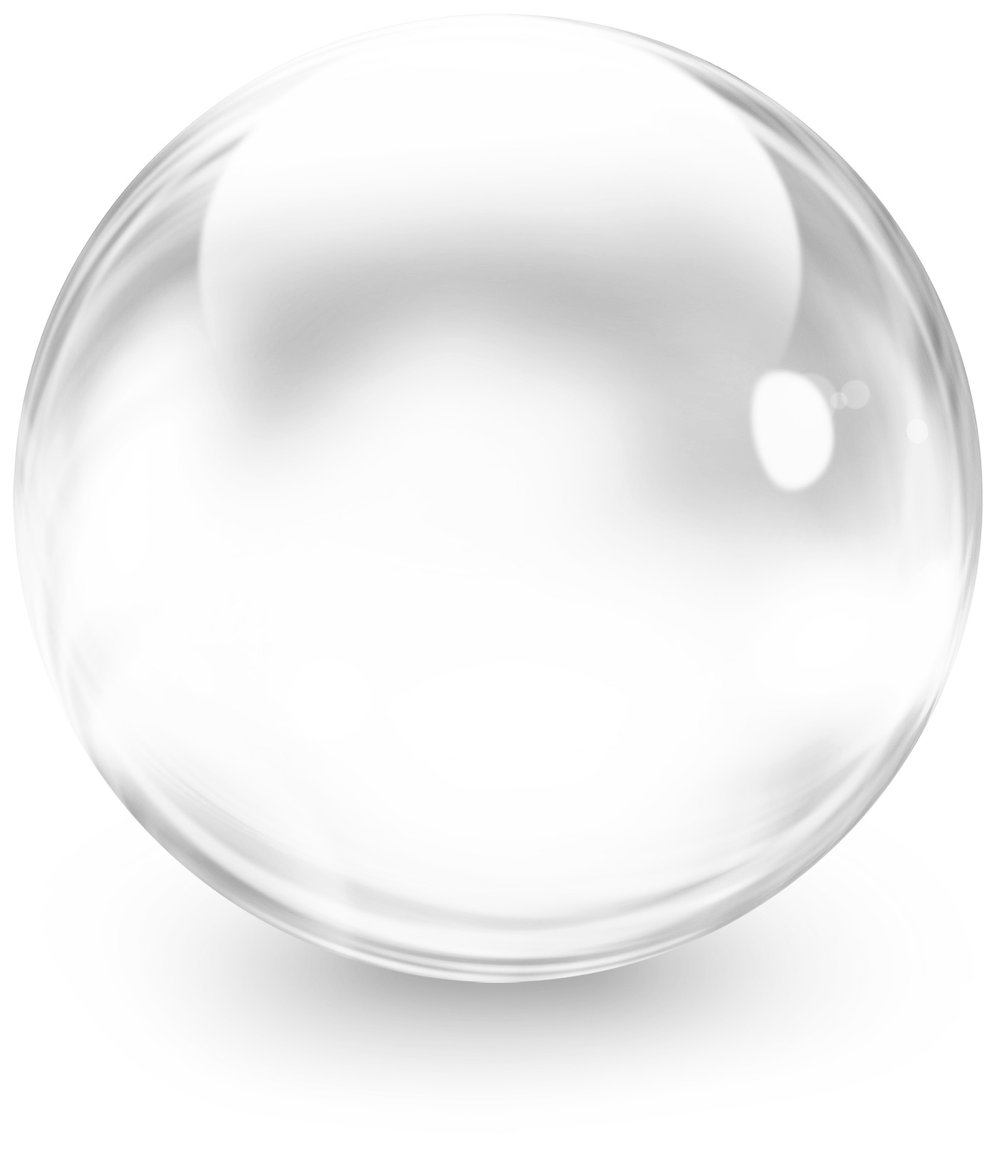 White Transparent Bubble 476.56 Kb