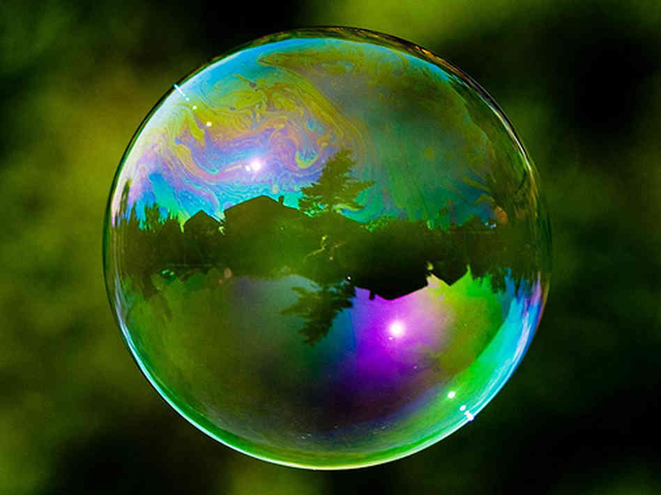 World Reflected in a Soap Bubble 476.56 Kb