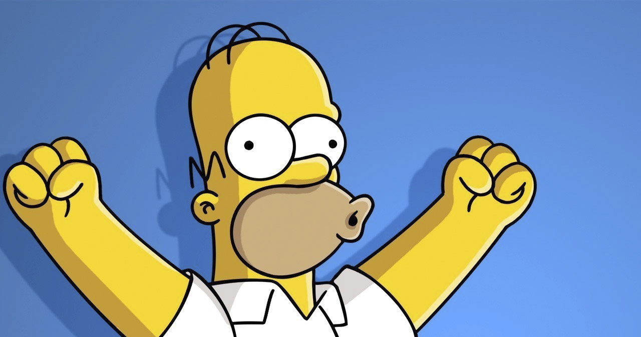 Happy Homer Simpson 141.38 Kb