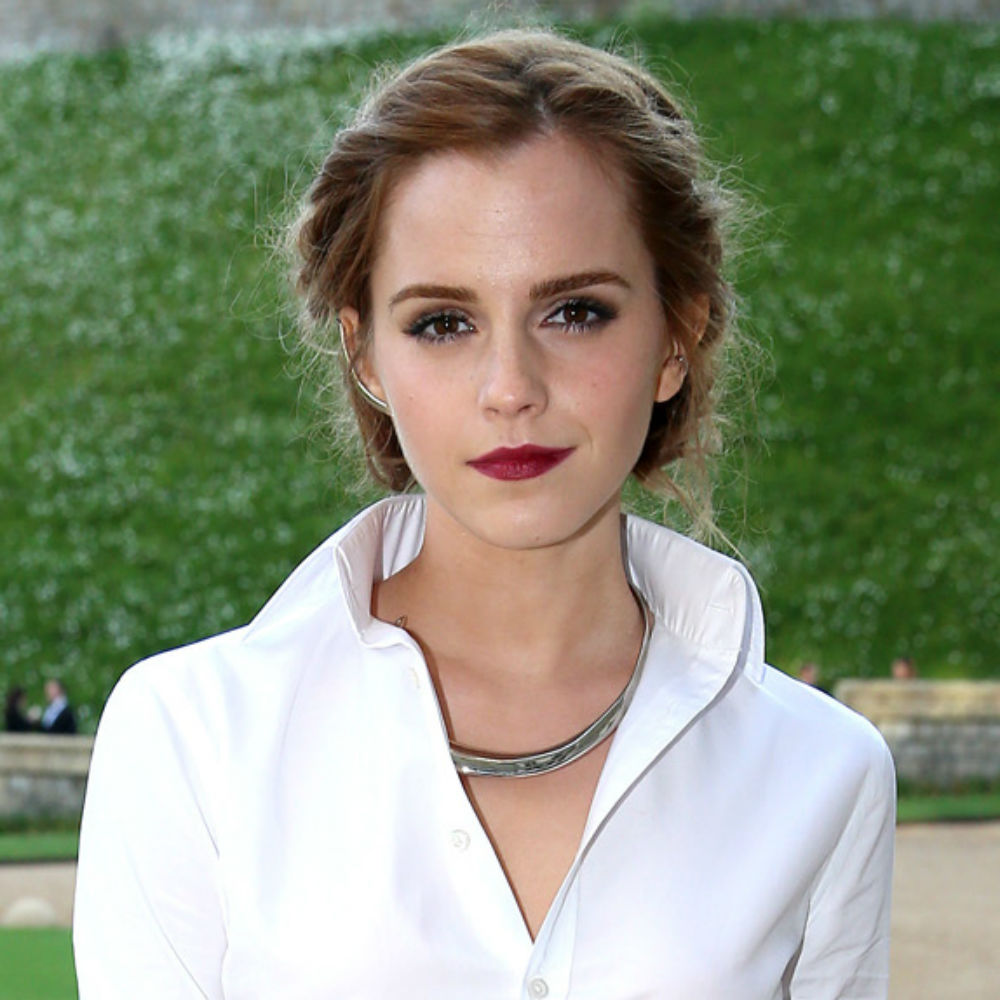 Emma Watson with Red Lips