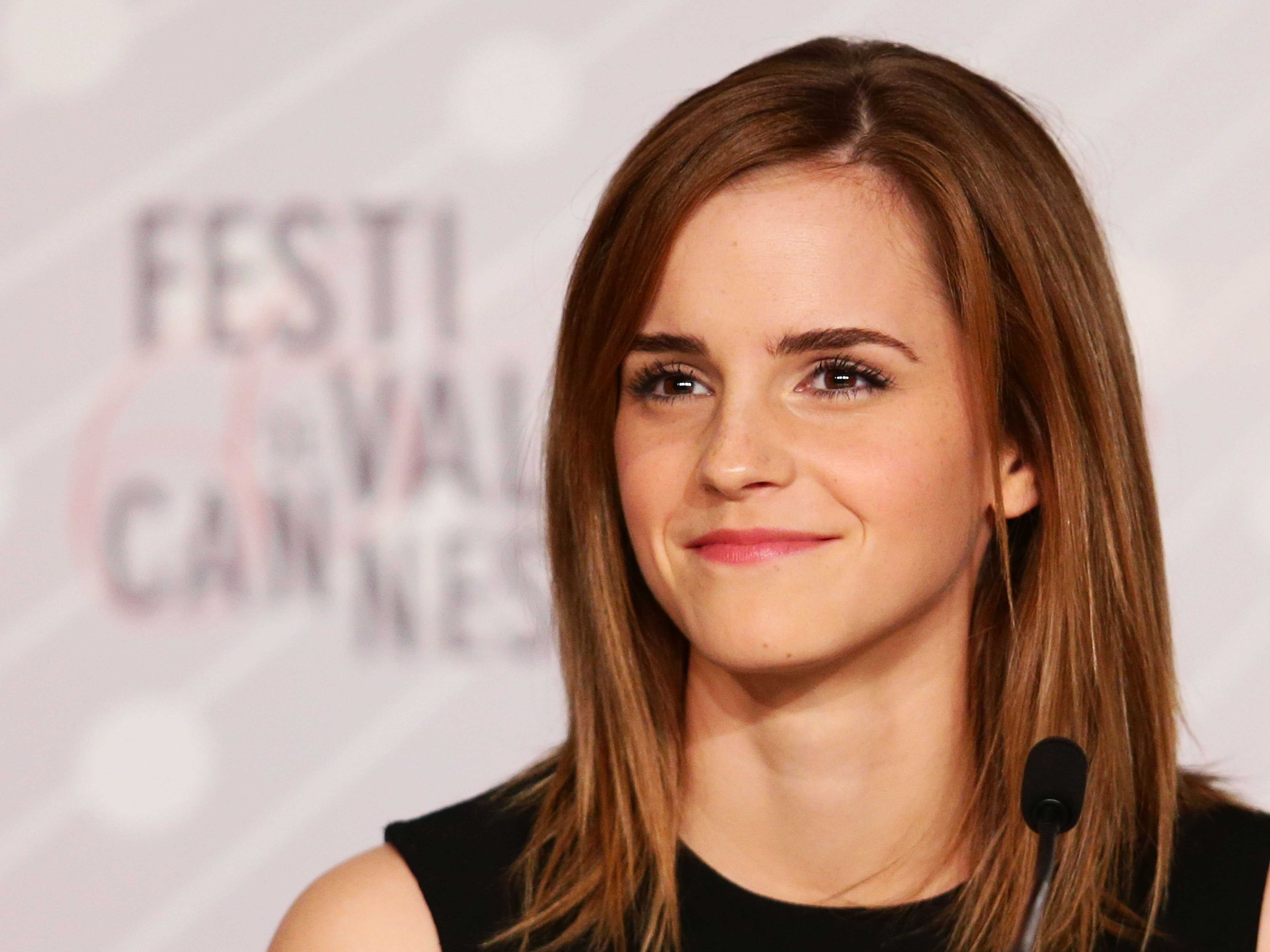 Emma Watson at Cannes Festival