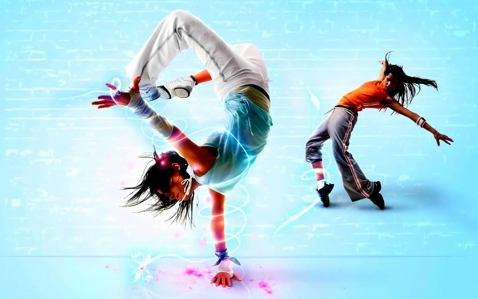 Female Break Dance 40.86 Kb