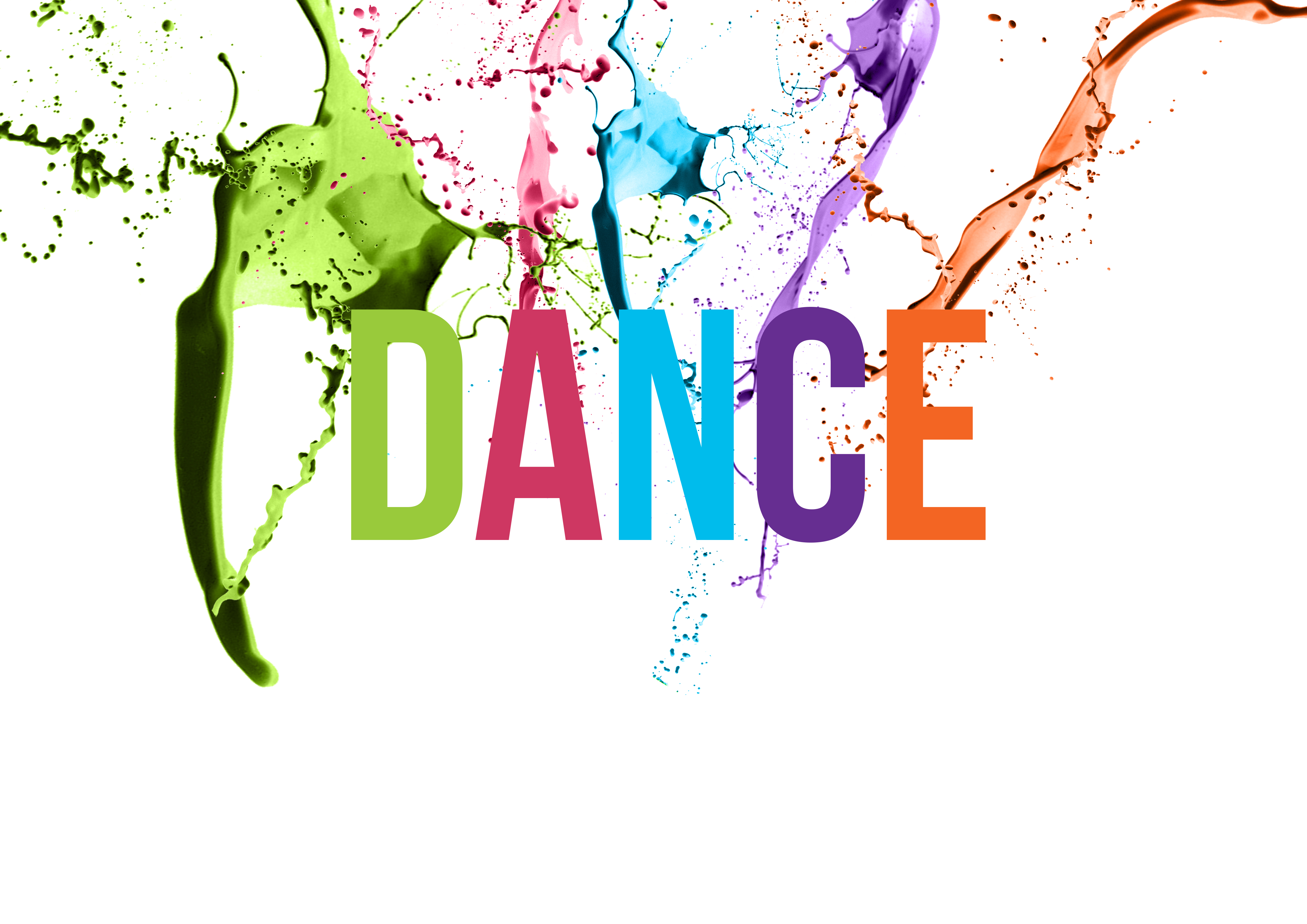 Colorful Dance Sign