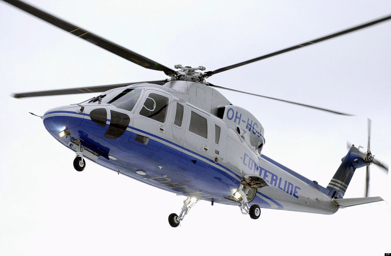 Blue White Takoradi Helicopter 827.27 Kb