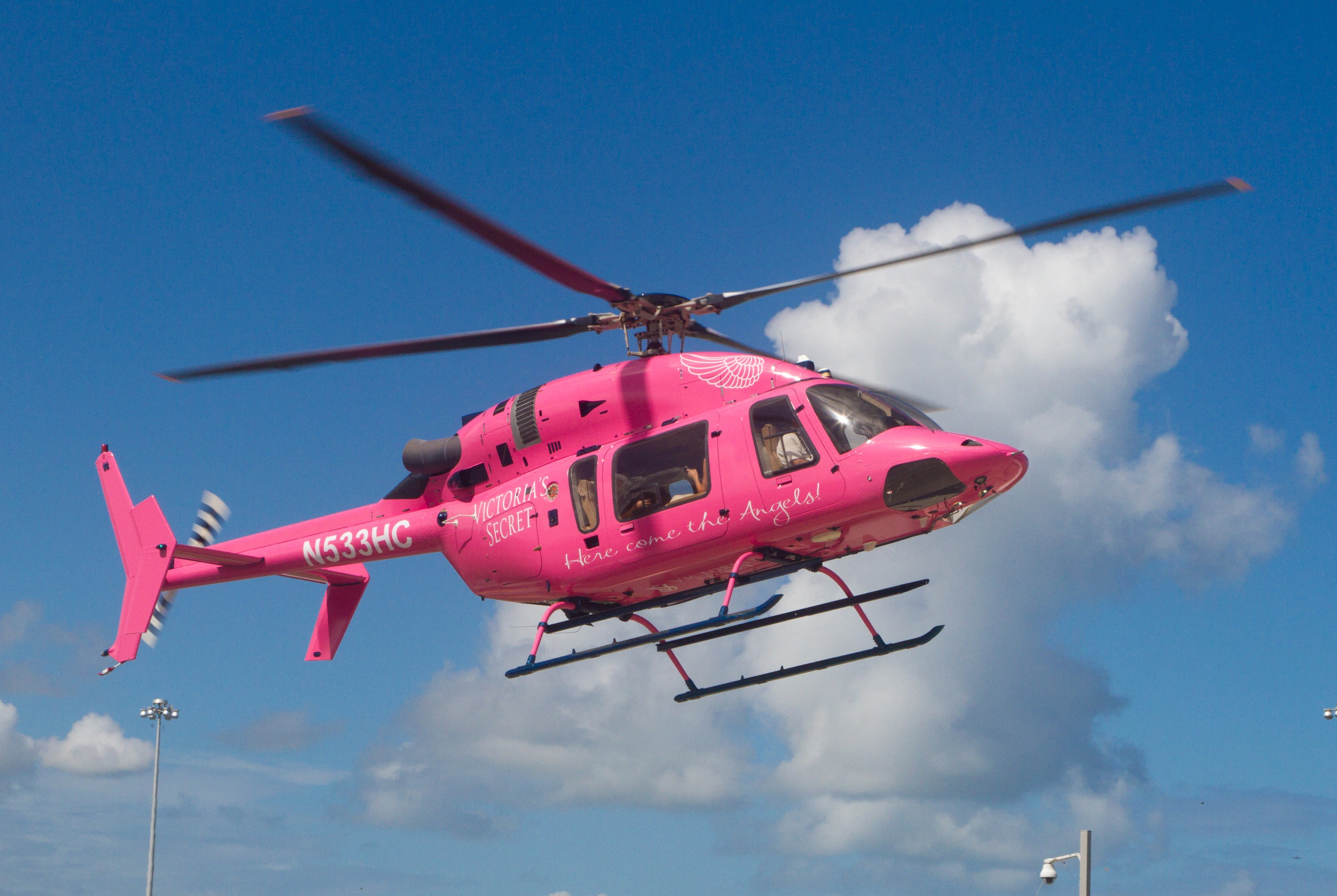 Pink Angel Helicopter 167.35 Kb