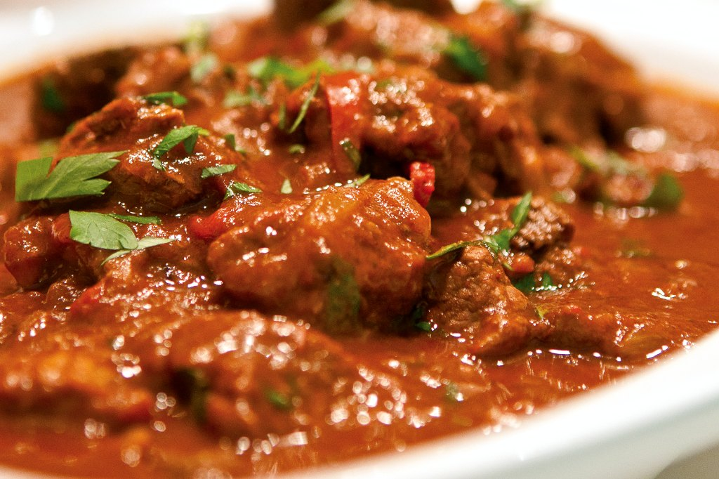 Goulash With Meat and Spices 2107.8 Kb