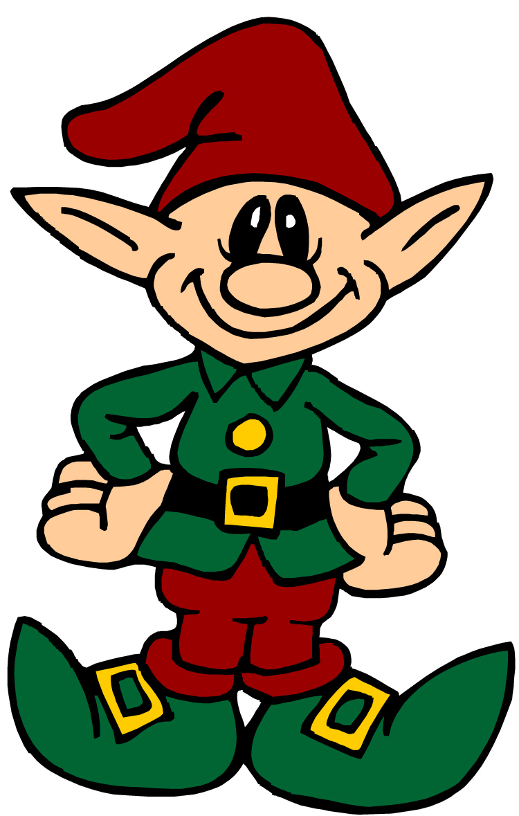 Cartoon Elf Picture