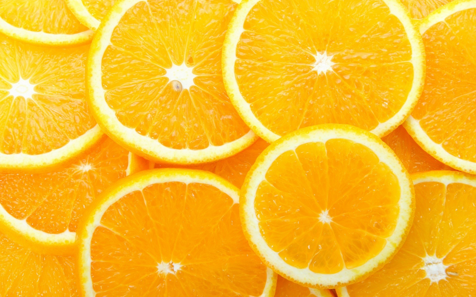 Orange Slices Wallpaper 5361.53 Kb
