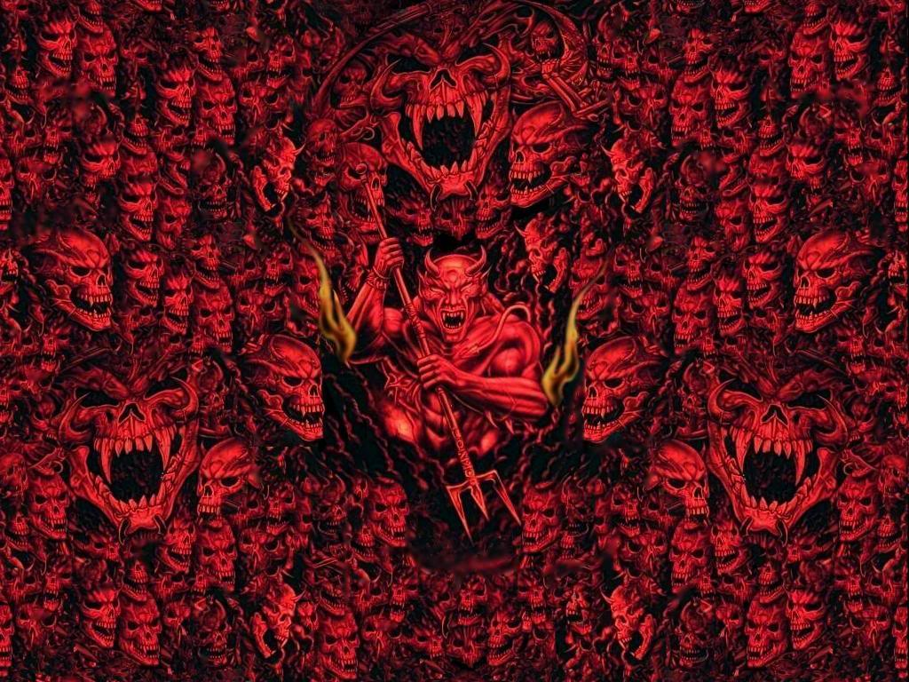 Angry Demons, Red Wallpaper