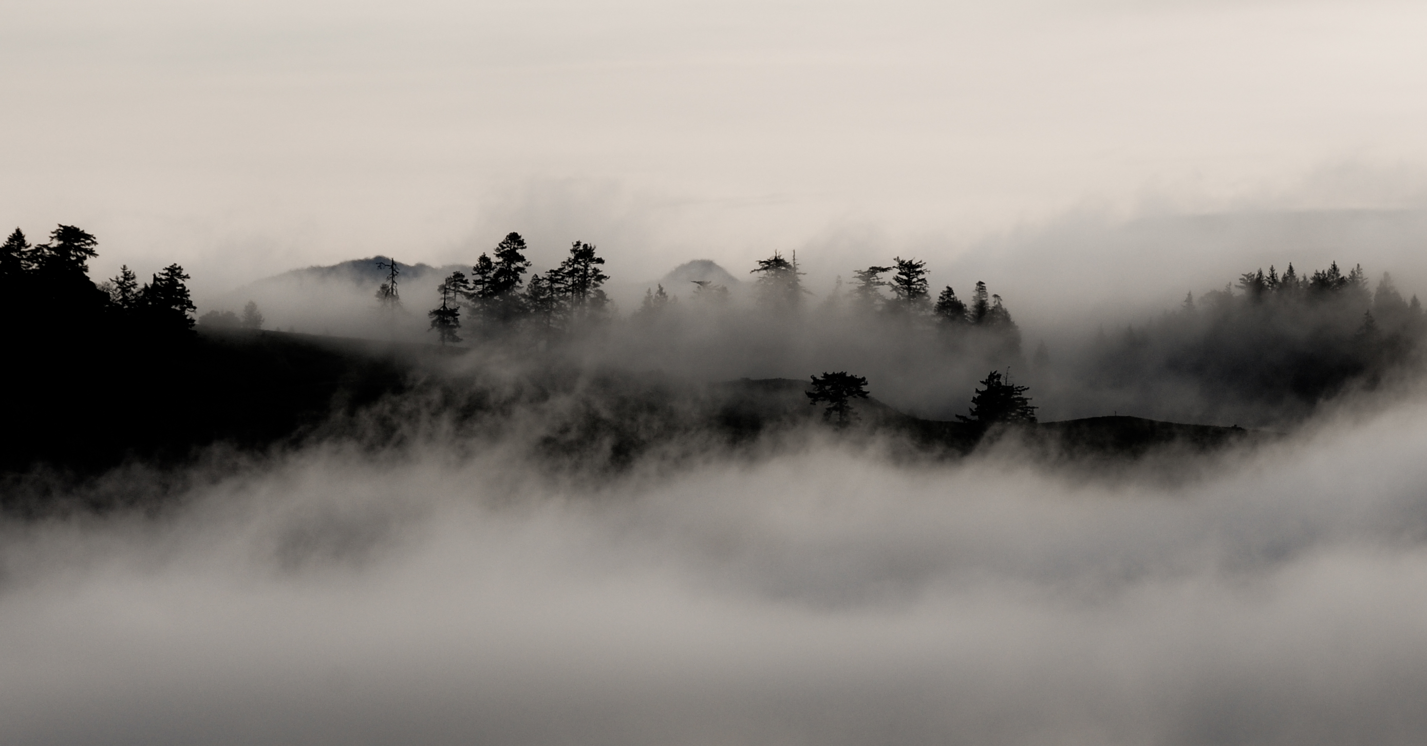 Fog on the Mountain Hills