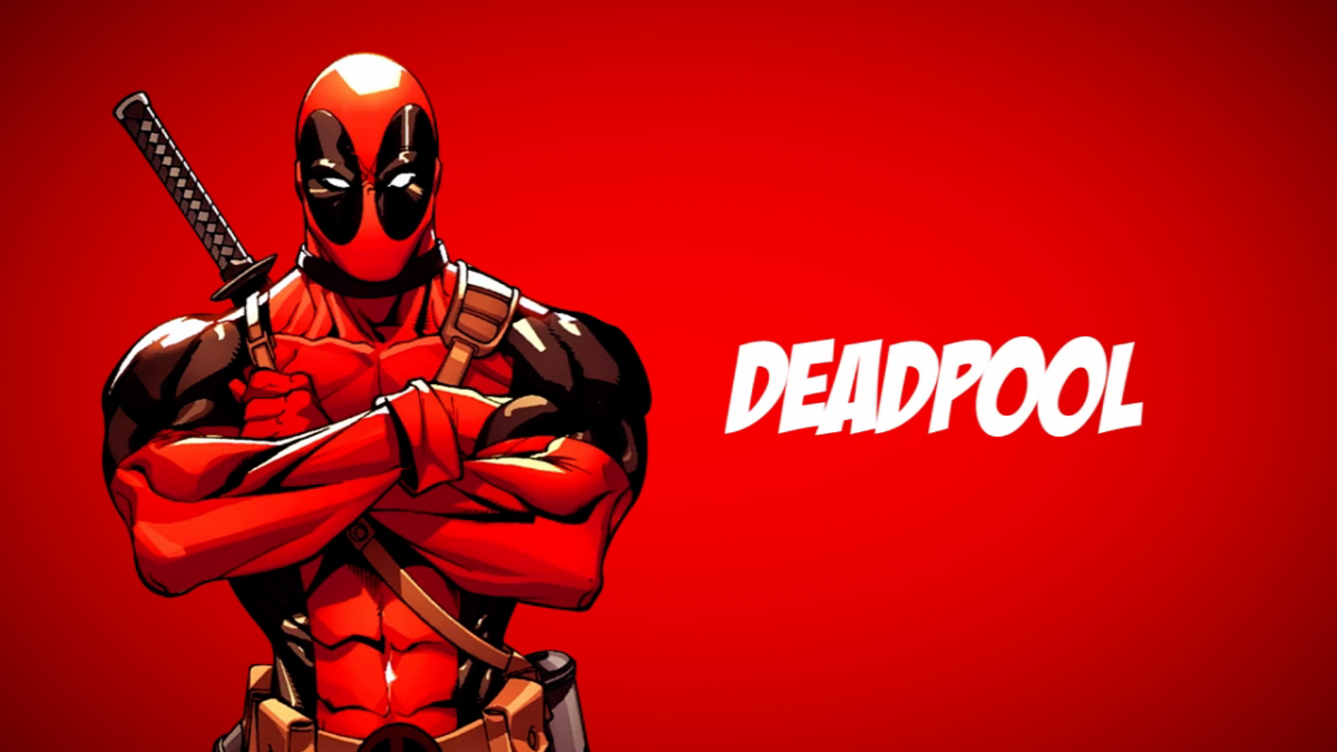 Deadpool Red Poster Wallpaper 632.64 Kb