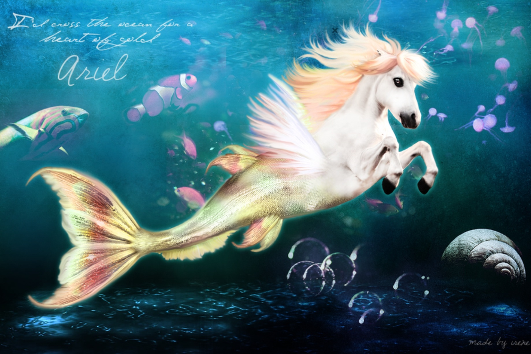 anime mermaids creatures 4248295 700x990 all for desktop