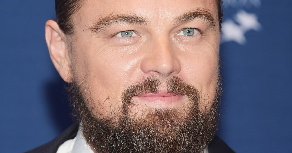 Leonardo DiCaprio with a Beard