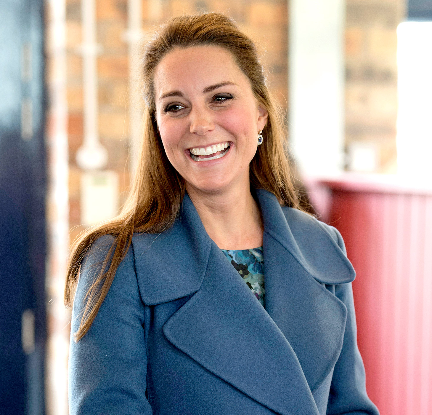 Kate Middleton Cheerful Smile 175.81 Kb
