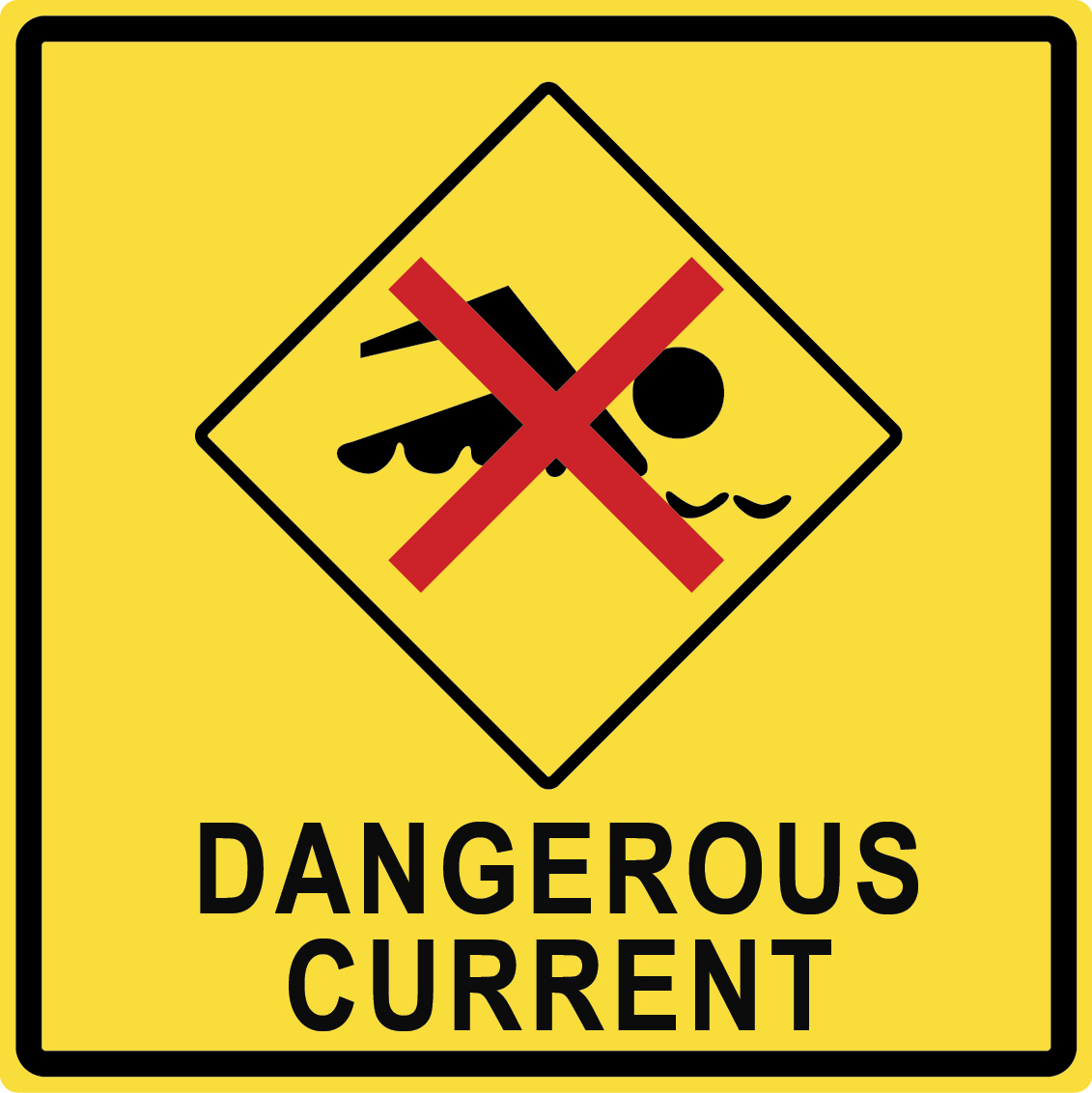Dangerous Current Sign 1490.96 Kb