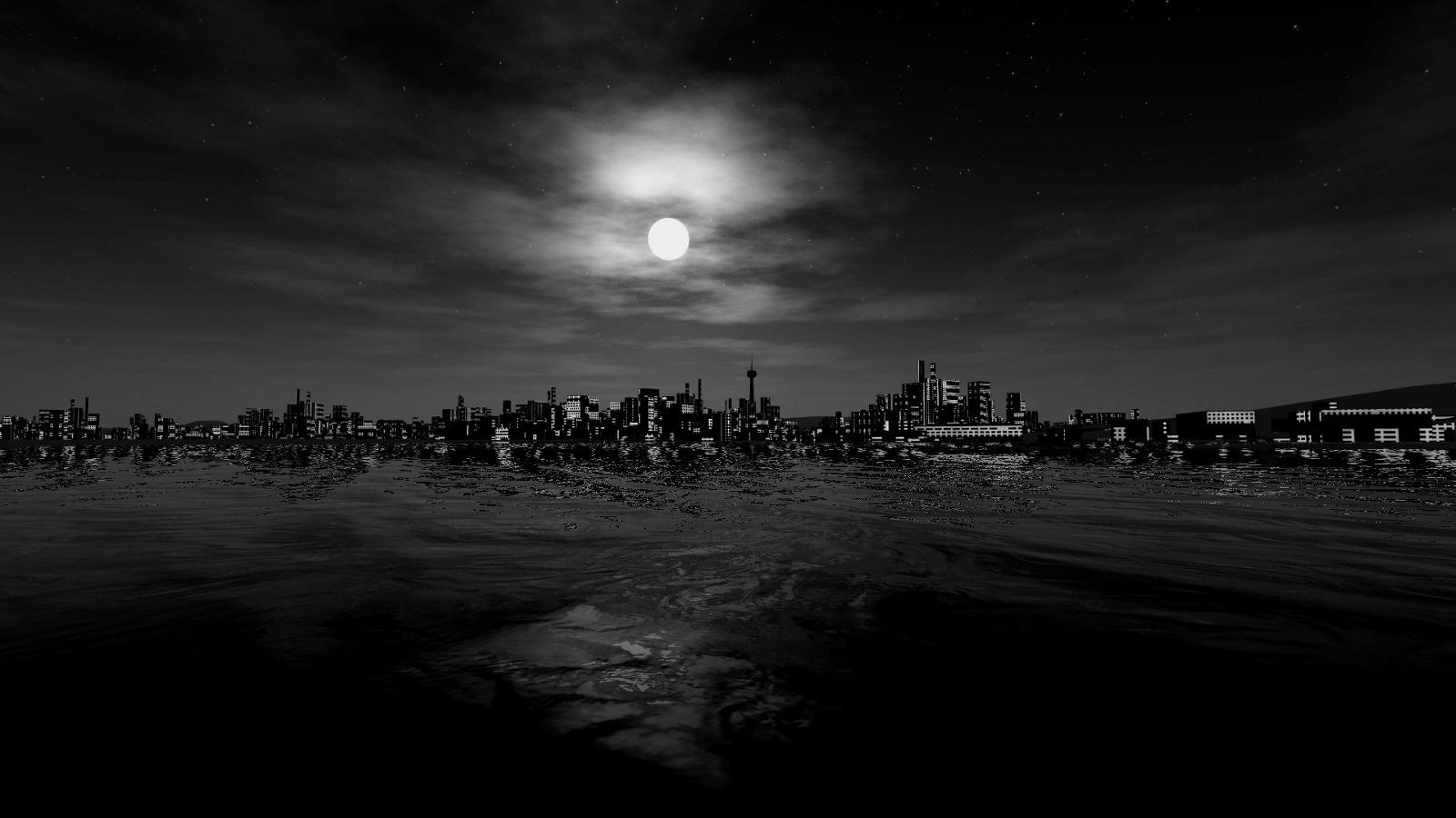 City in Darkness, Full Moon 1579.16 Kb