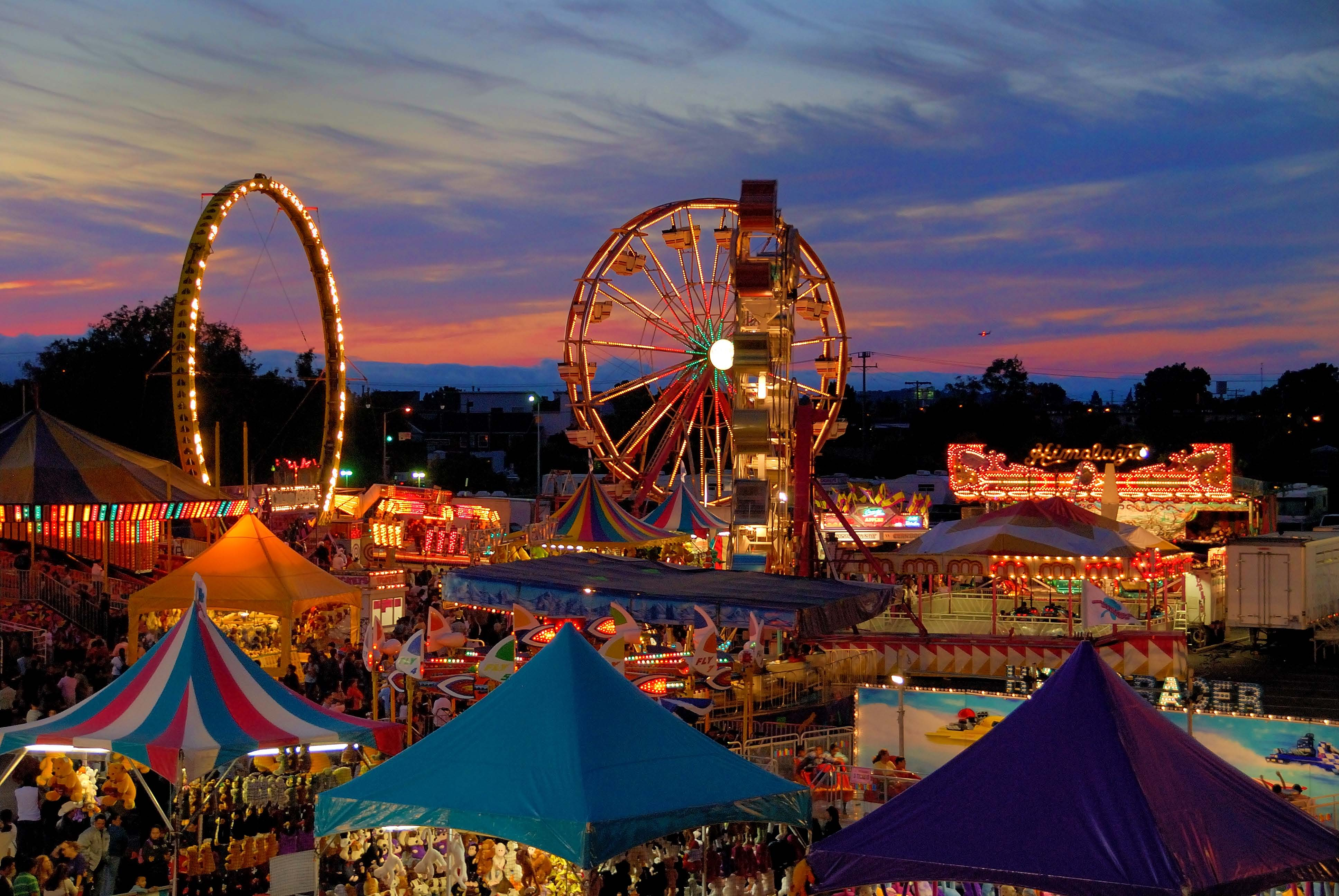 Carnival Fair by Night
