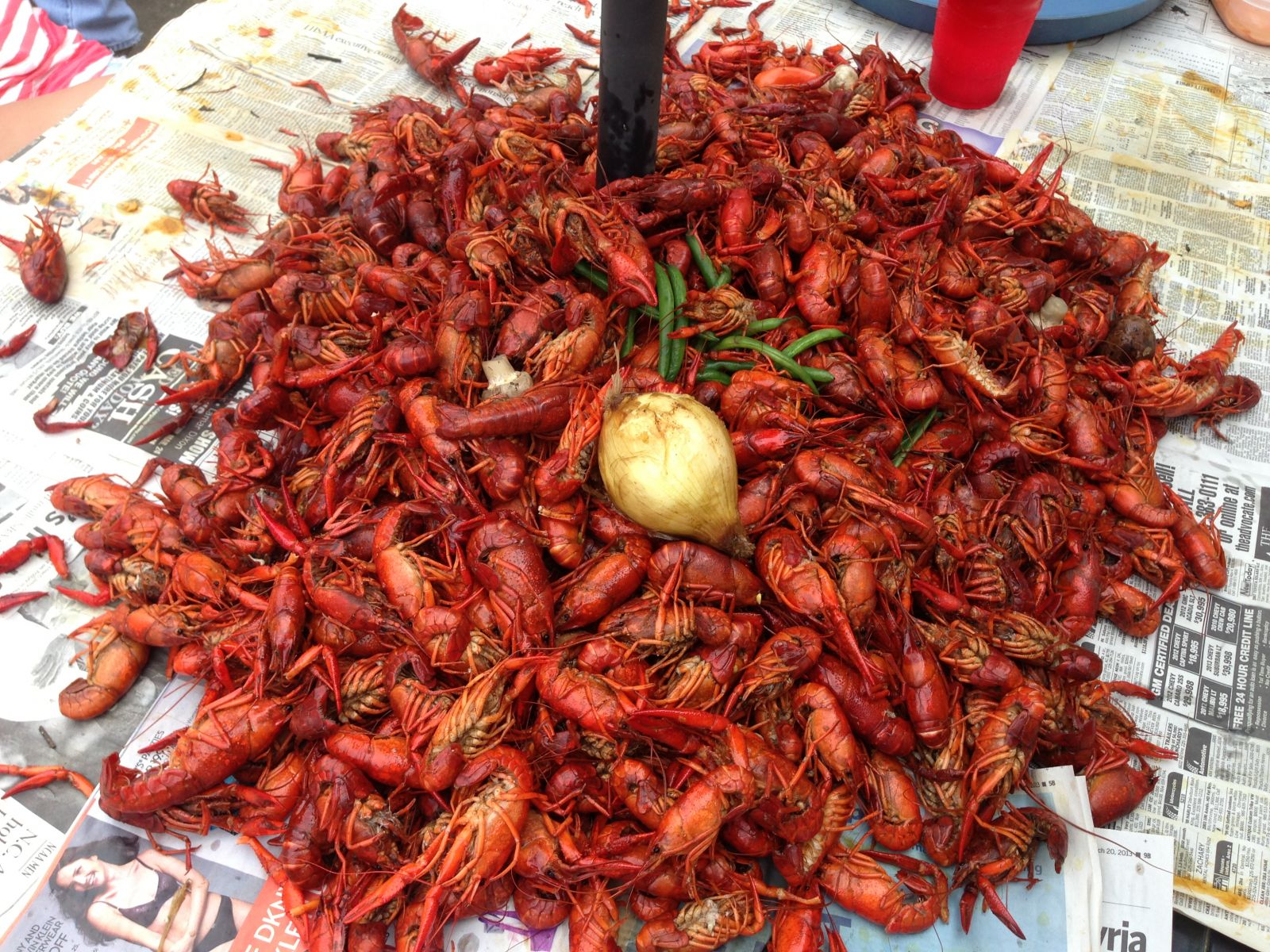 Small Cooked Crawfish
