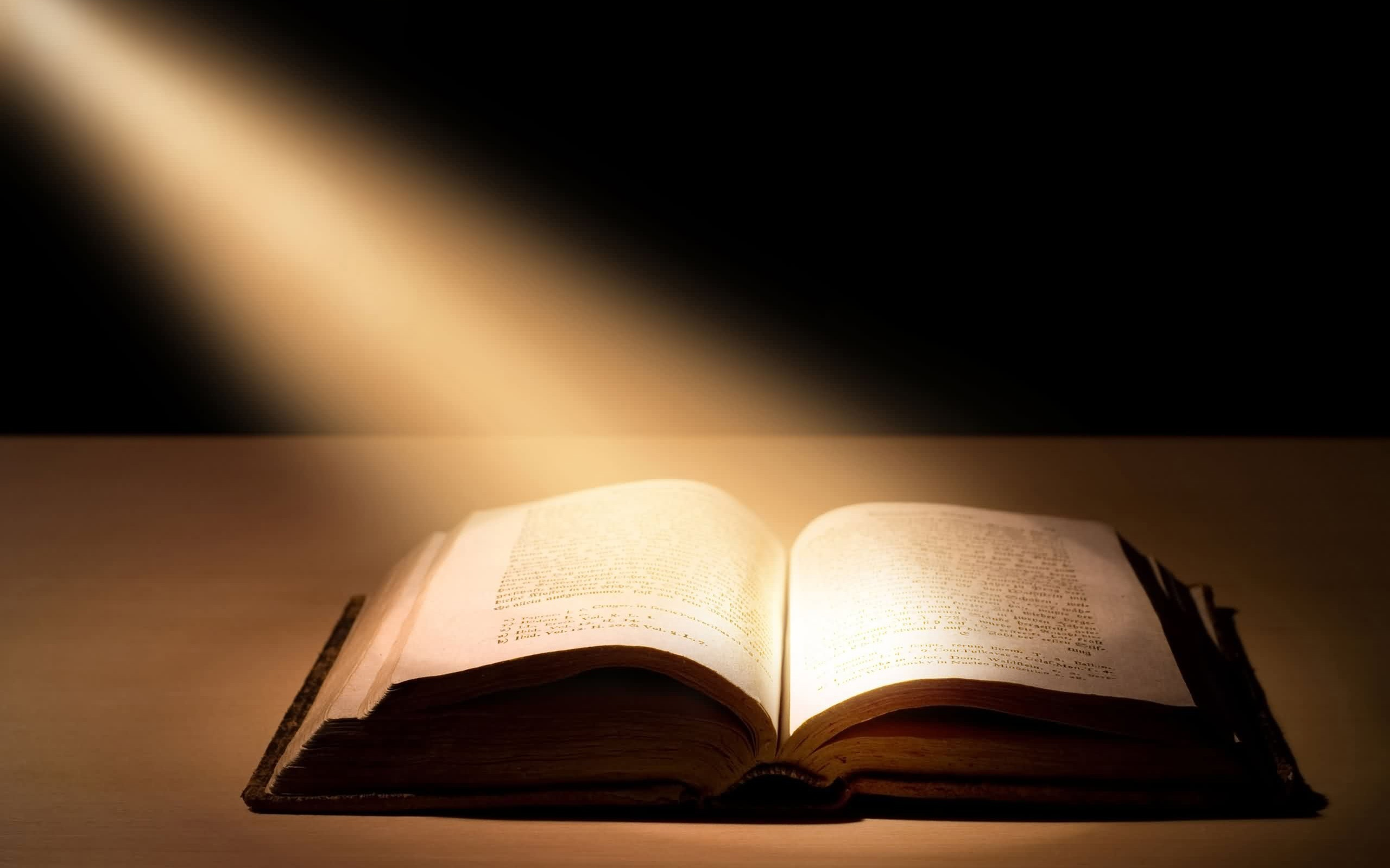 Bible in Spotlight Picture 973.92 Kb