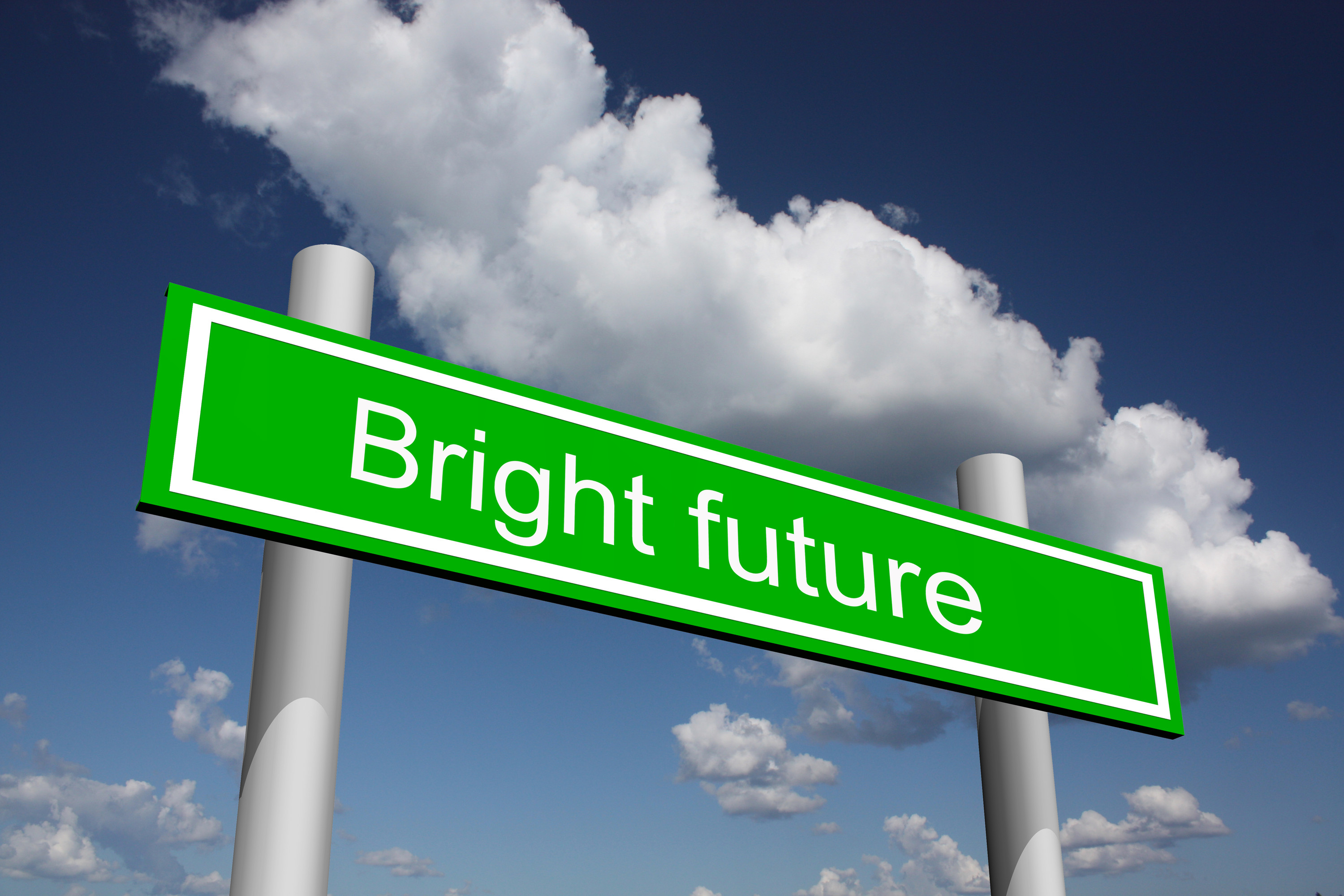 Bright Future Sign 2898.06 Kb