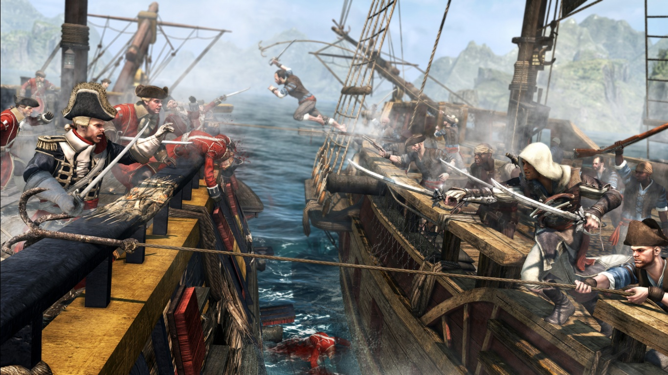 Assassin S Creed Iv Black Flag Game 4150446 1920x1080 All For