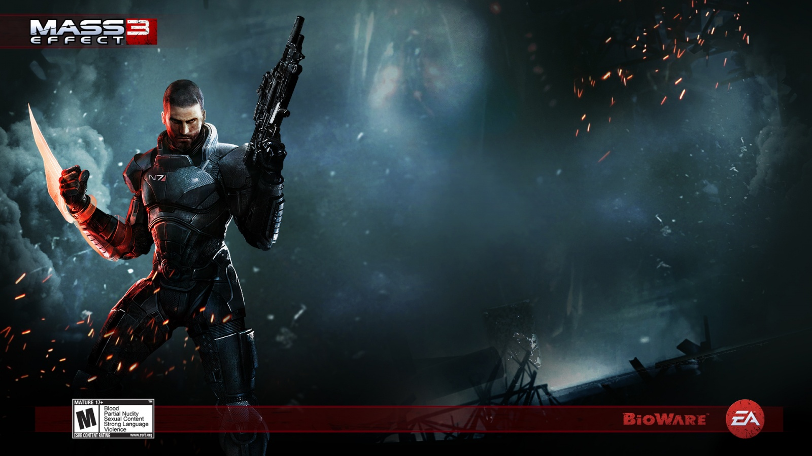 Action Game Mass Effect 3 4167830 1920x1080 All For Desktop
