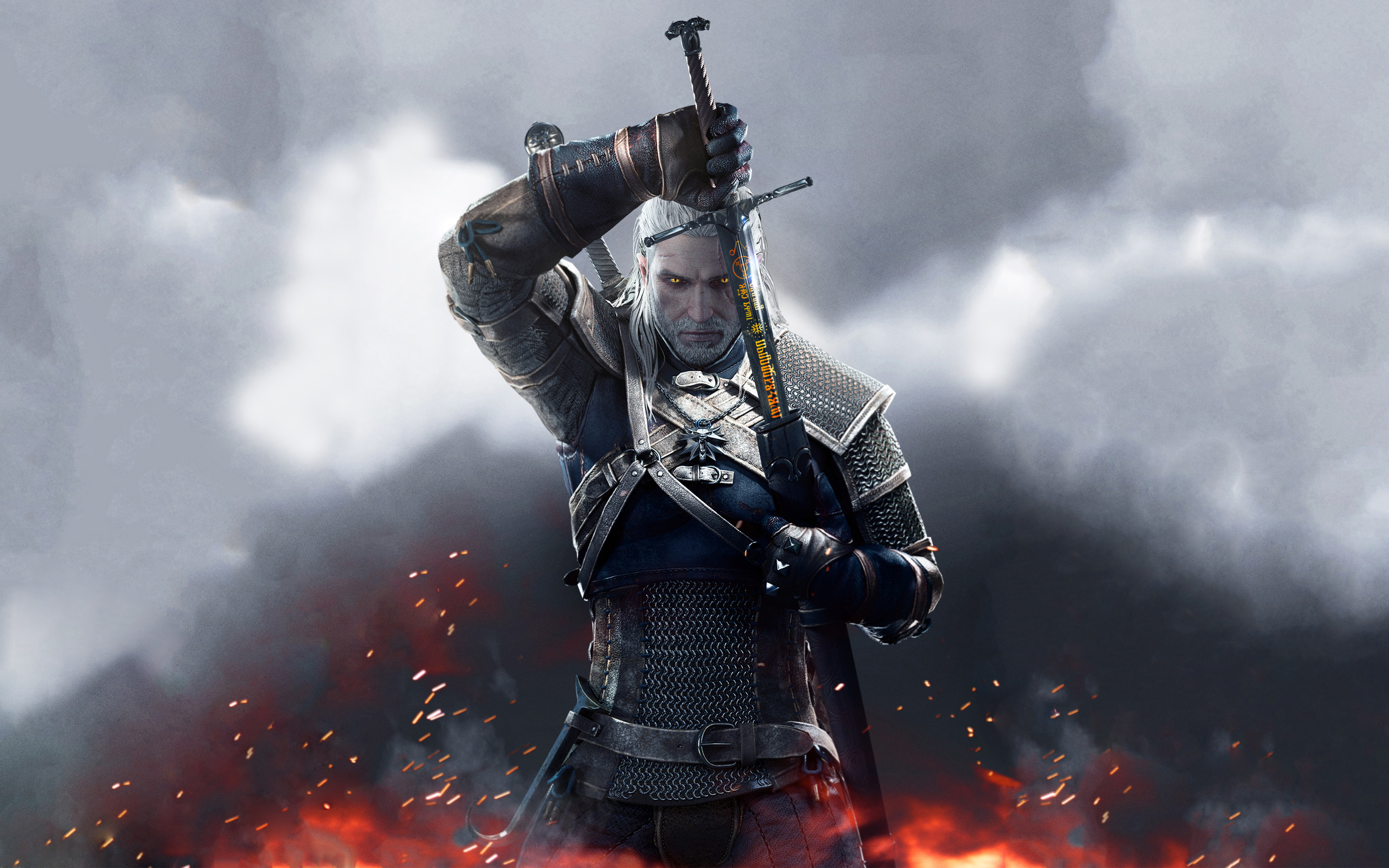 The Witcher 3 Wild Hunt Sword Of Destiny 4139549 2880x1800 All