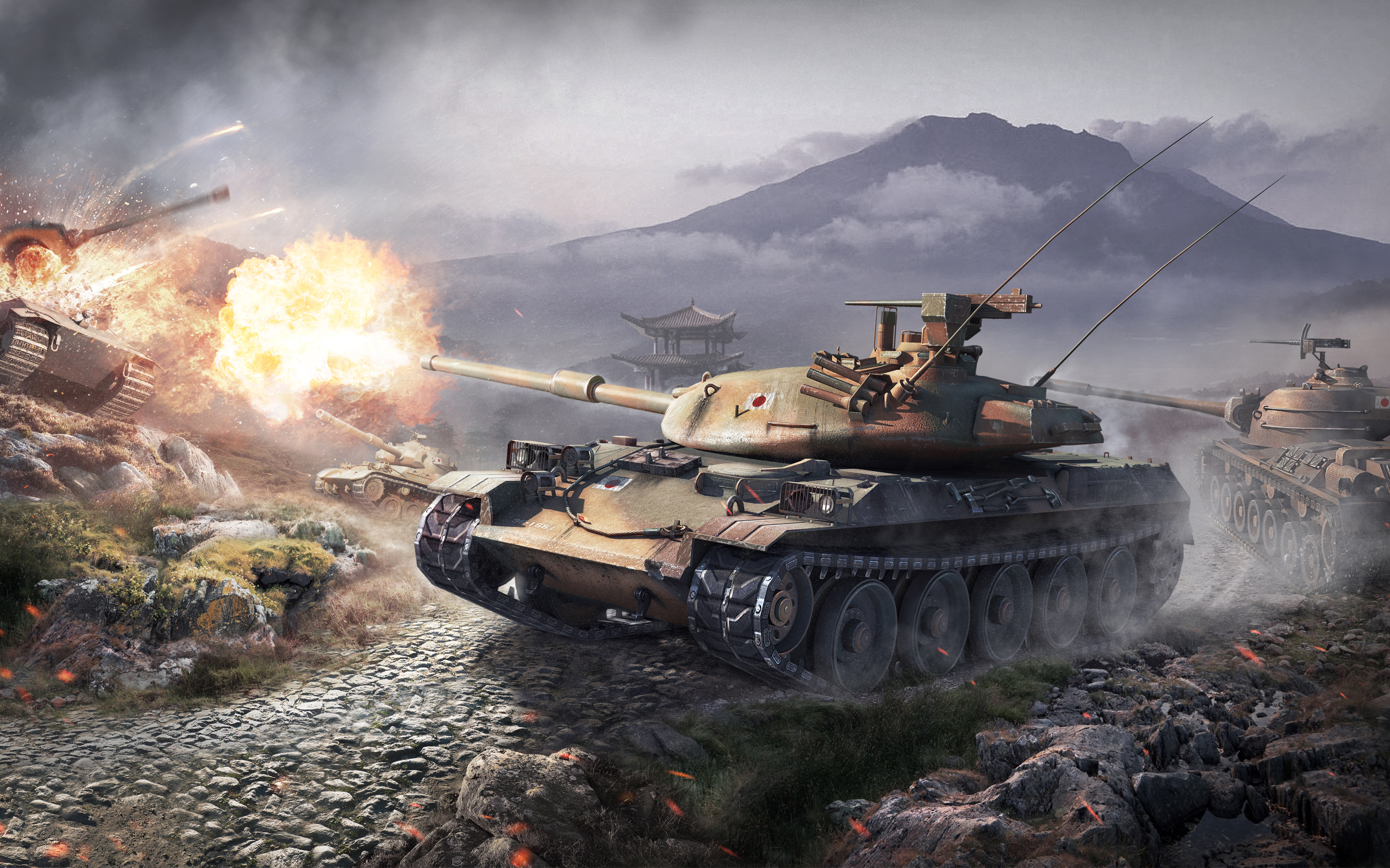 World of Tanks Japanese Tanks 1154.22 Kb