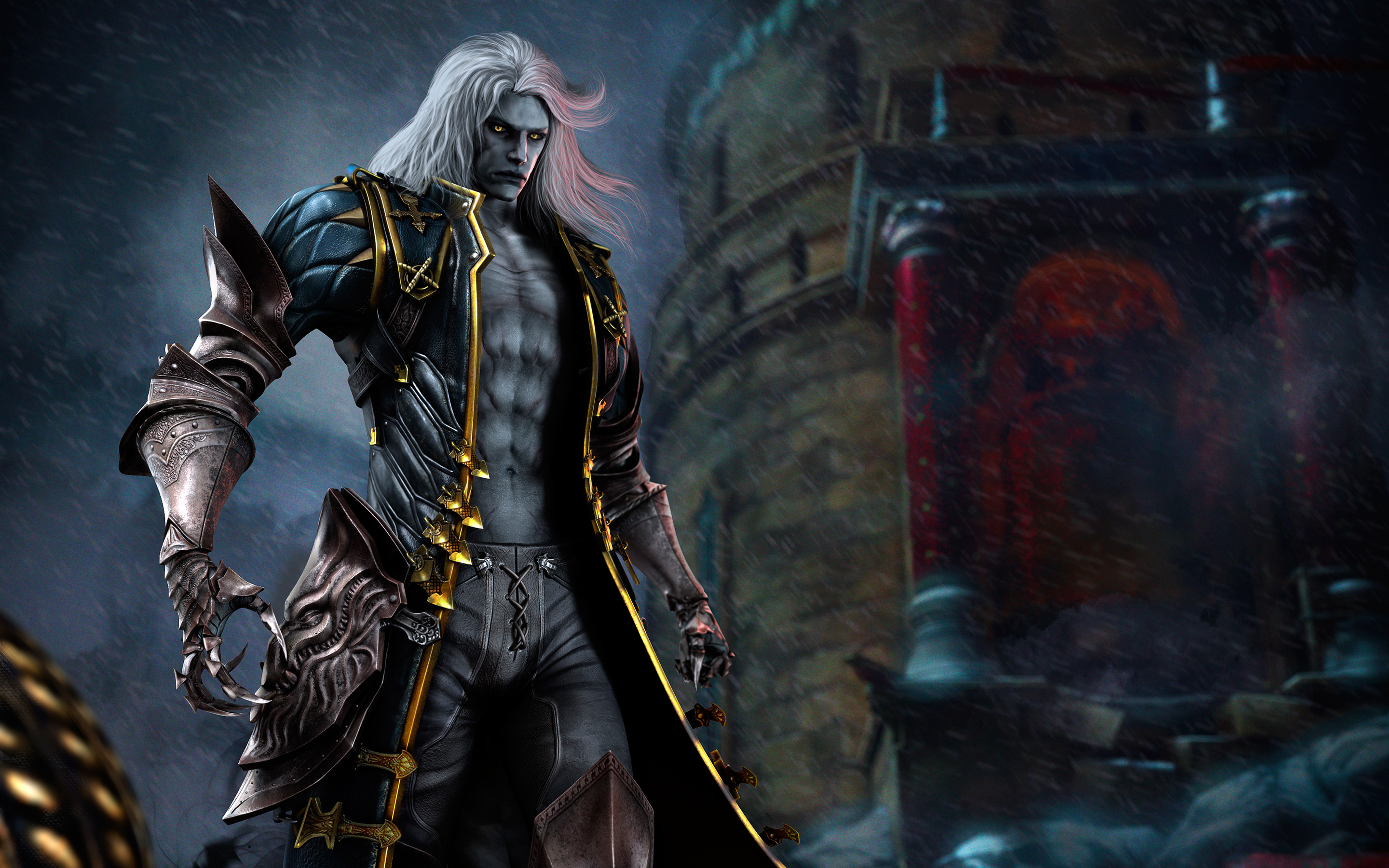 Alucard in Castlevania Lords of Shadow 2 521.77 Kb