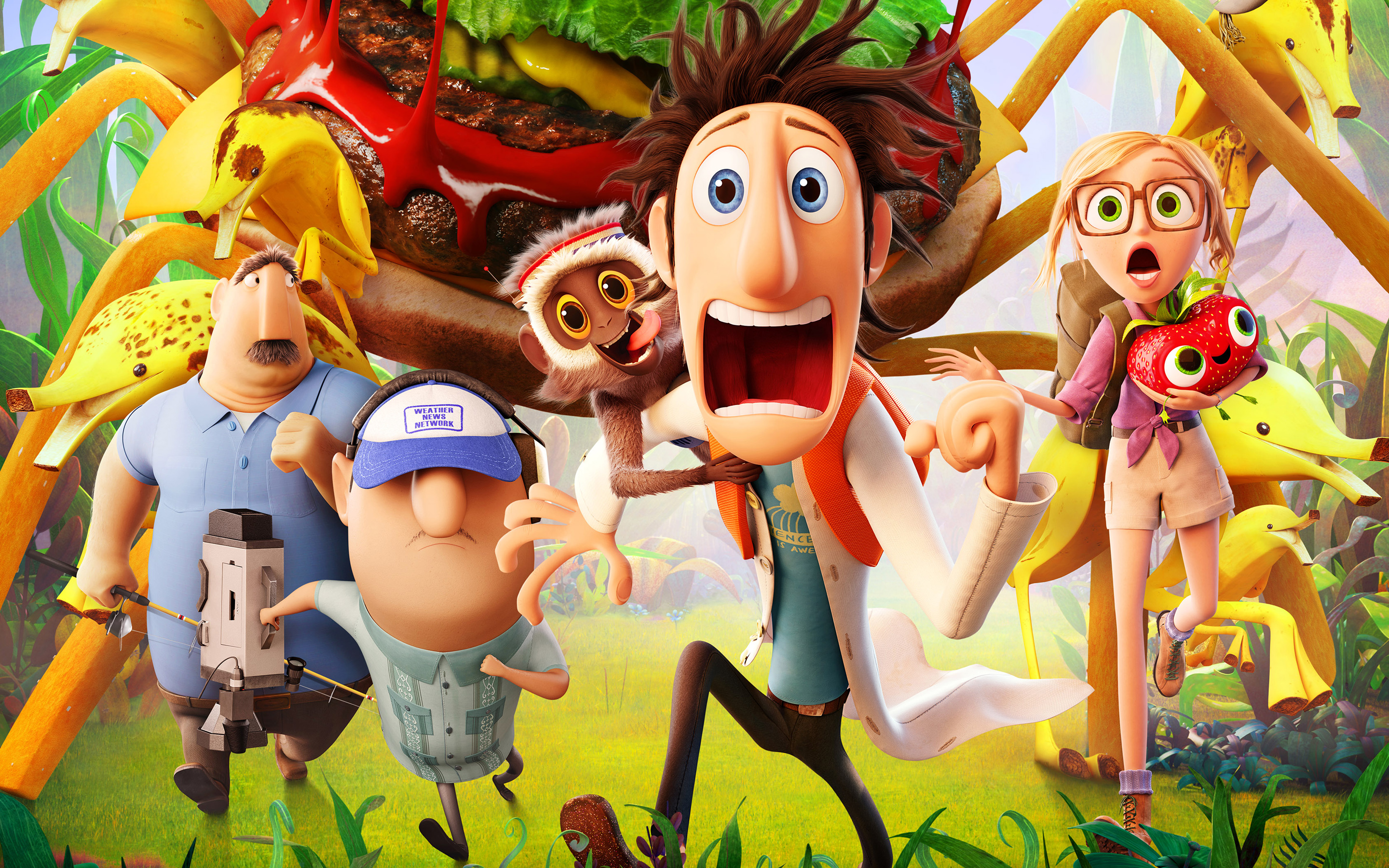 2013 Cloudy with a Chance of Meatballs 2 Movie 2220.81 Kb