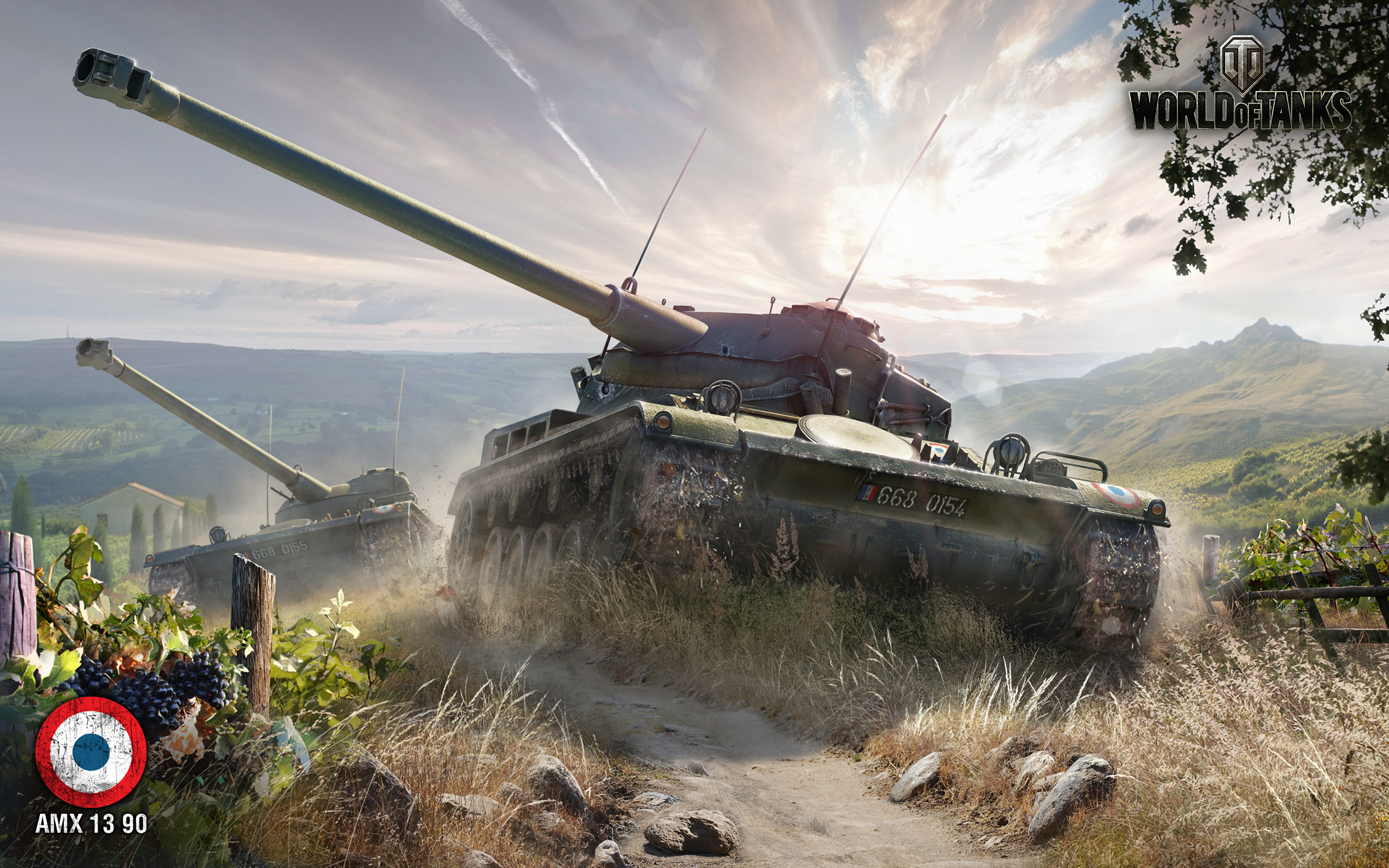 AMX 13 90 World of Tanks 1154.22 Kb